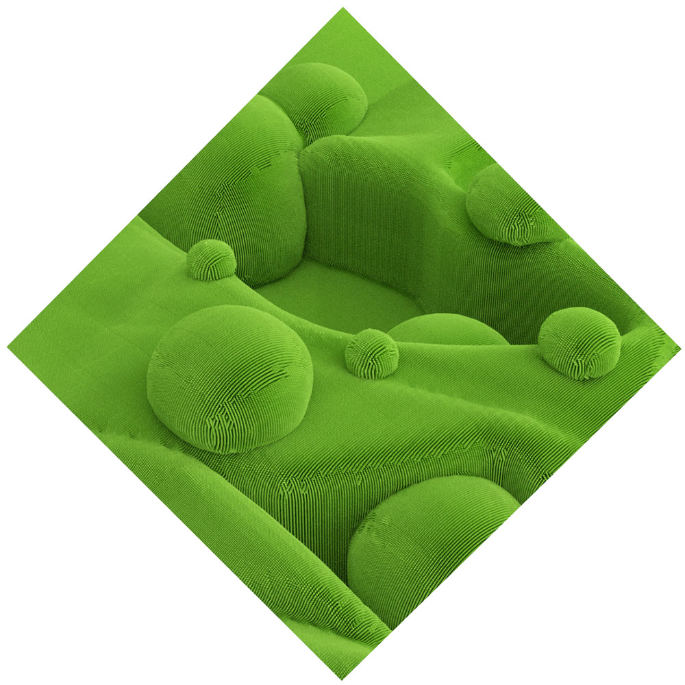 """Topiary II , 2019, Épreuve à développement chromogène, 40"""" x 40"""""""