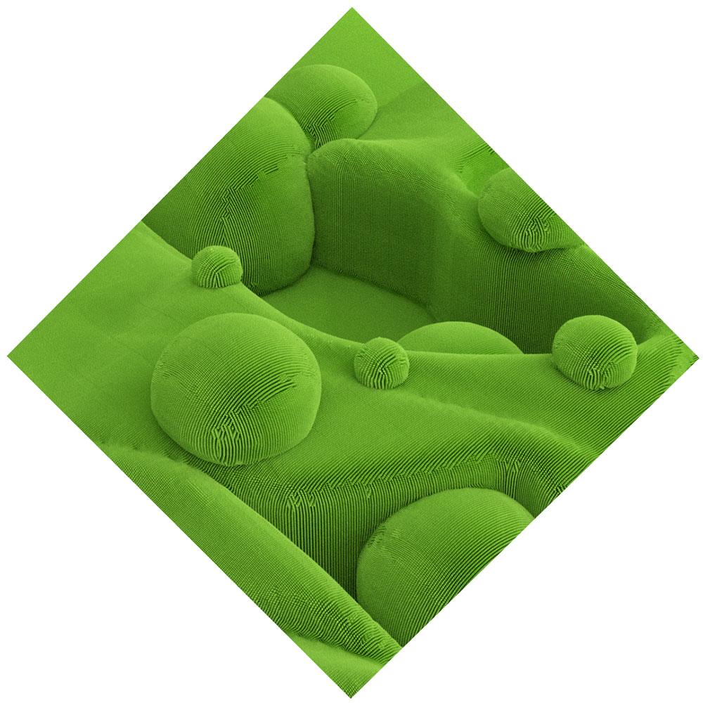 """Topiary II , 2019. Épreuve à développement chromogène, 40"""" x 40""""."""