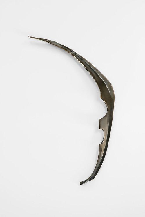 """Passage , 2018, Édition de 3, Bronze, 22 1/2 x 38 x 3 3/8"""""""