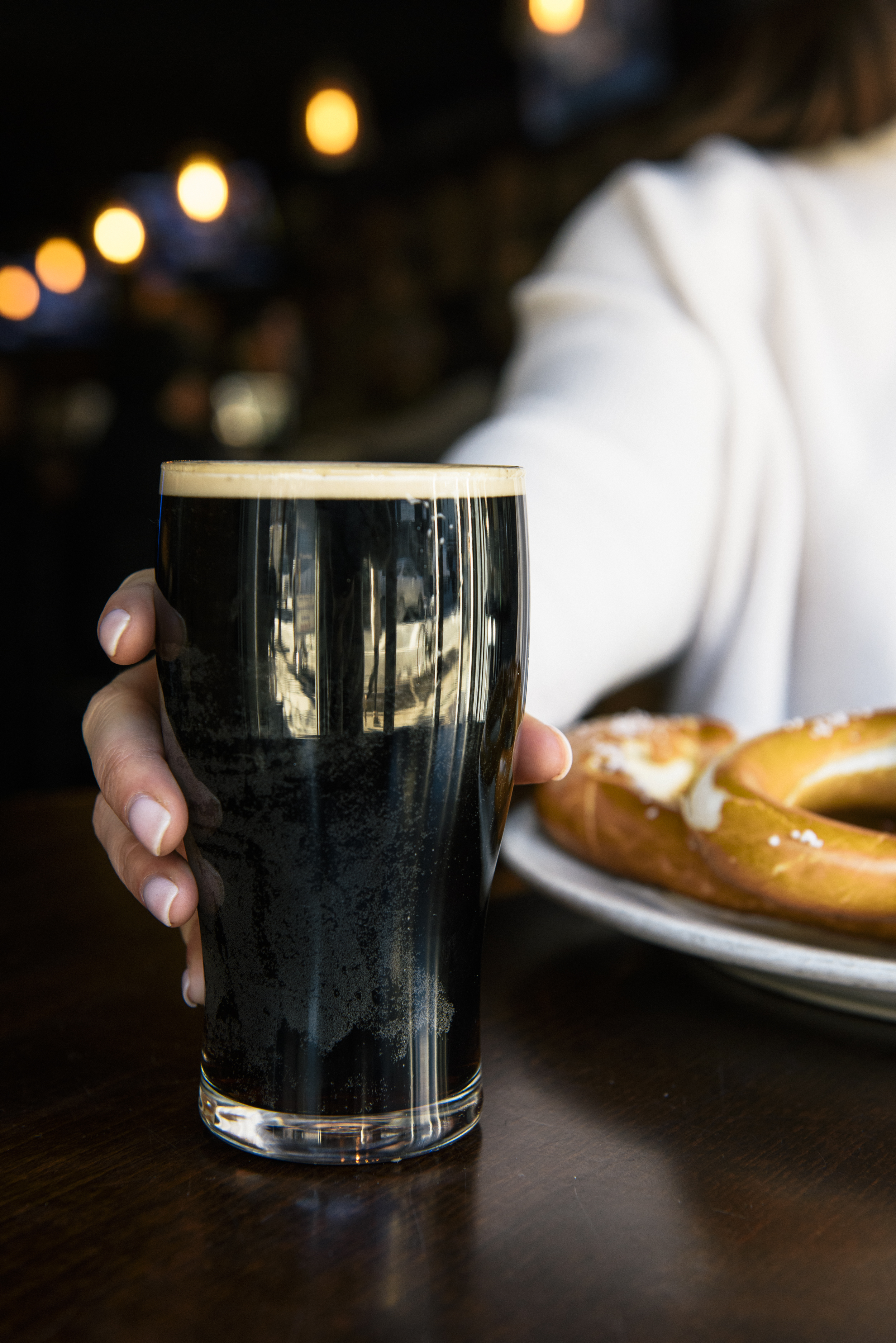 photo of pint of guinness