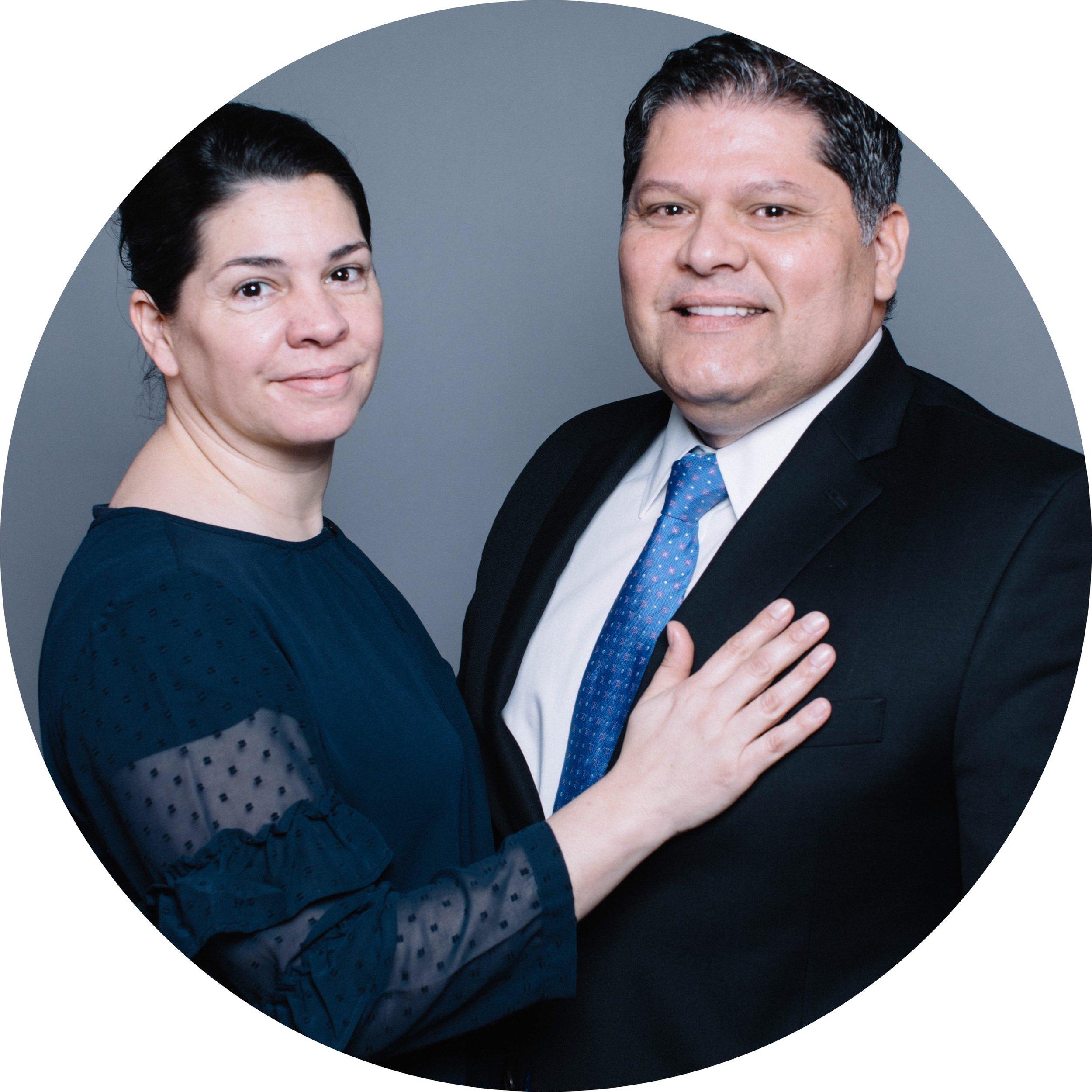 Spanish pastor - Manuel & Romina Fernandez