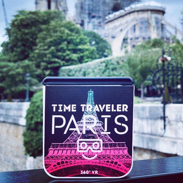TimeTraveler Viewers #notredame #virtualreality @heytimetraveler