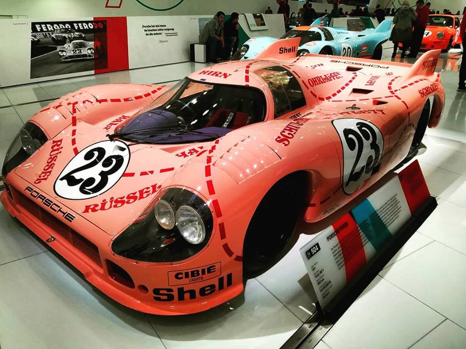"""""""The Pig"""" - One of the most notable of Porsche 917/20 racers"""