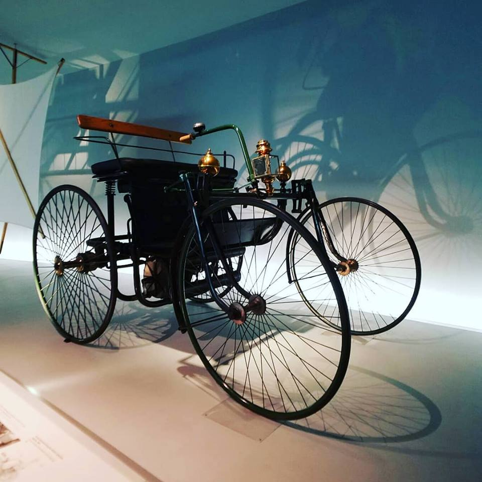 From past to present - Gottlieb Daimler and Karl Benz founders of Mercedes Benz