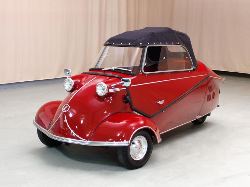 Messerschmitt KR175 - the charismatic bubble car engineered by Fritz Fend