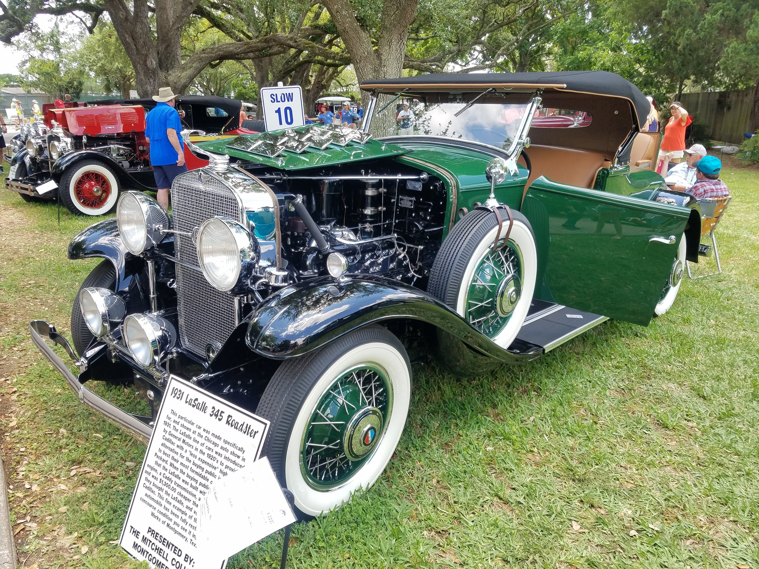 1931 LaSalle 345 Roadster