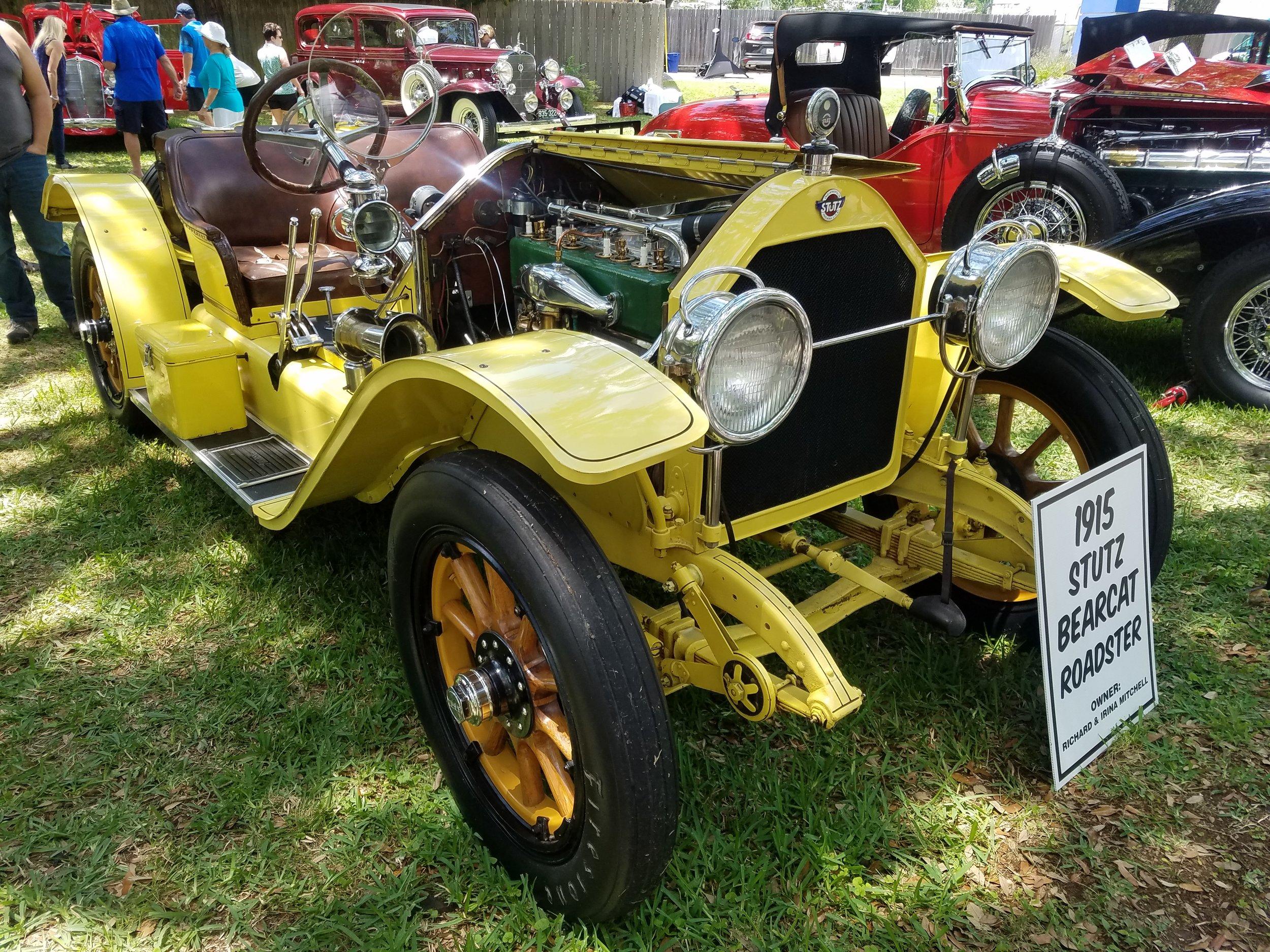 1915 Stutz Bearcat Roadster