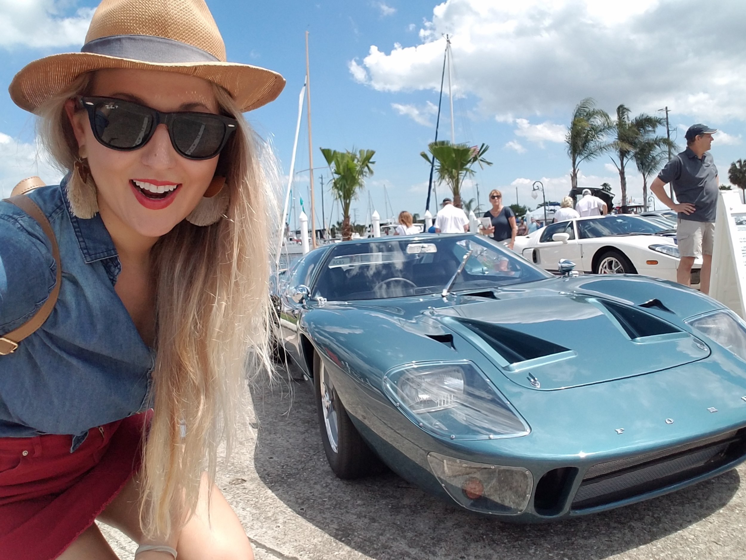 The Bad Blonde and Ford GT40