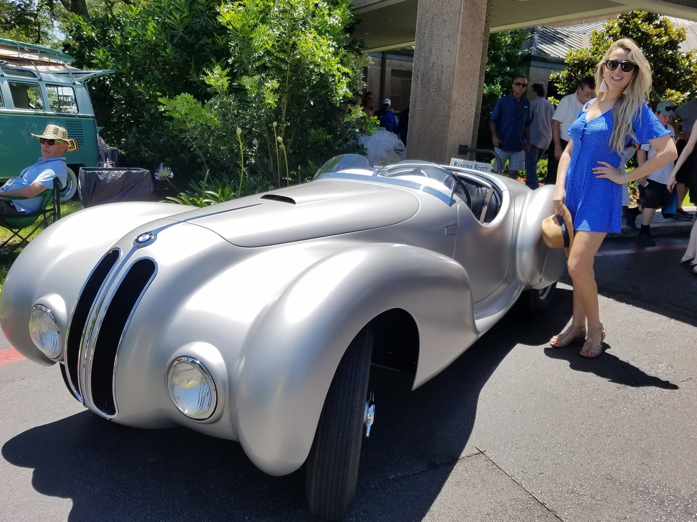 1937 BMW 328 Roadster + The Bad Blonde