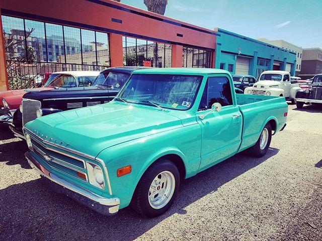 "Chevrolet C/K10 Series - Considered the first step by Chevy to add a bit of comfort to its line of work trucks. . What is your dream truck? . Dubbed the ""Action Line,"" Original MSRP: $2,408 in 1967. . 💋🏁 Like CARS? TheBadBlonde.com 💋🏁 . . . . #chevy #chevytrucks #chevyck10 #chevytruck #chevylovers #chevydaily #chevrolet #chevrolettrucks #oldchevytrucks #oldtrucks #trucks #Trucksofinsta #trucksdaily #truckinaround #chevyclub #classictrucks #vintagetruck #classicchevytrucks"