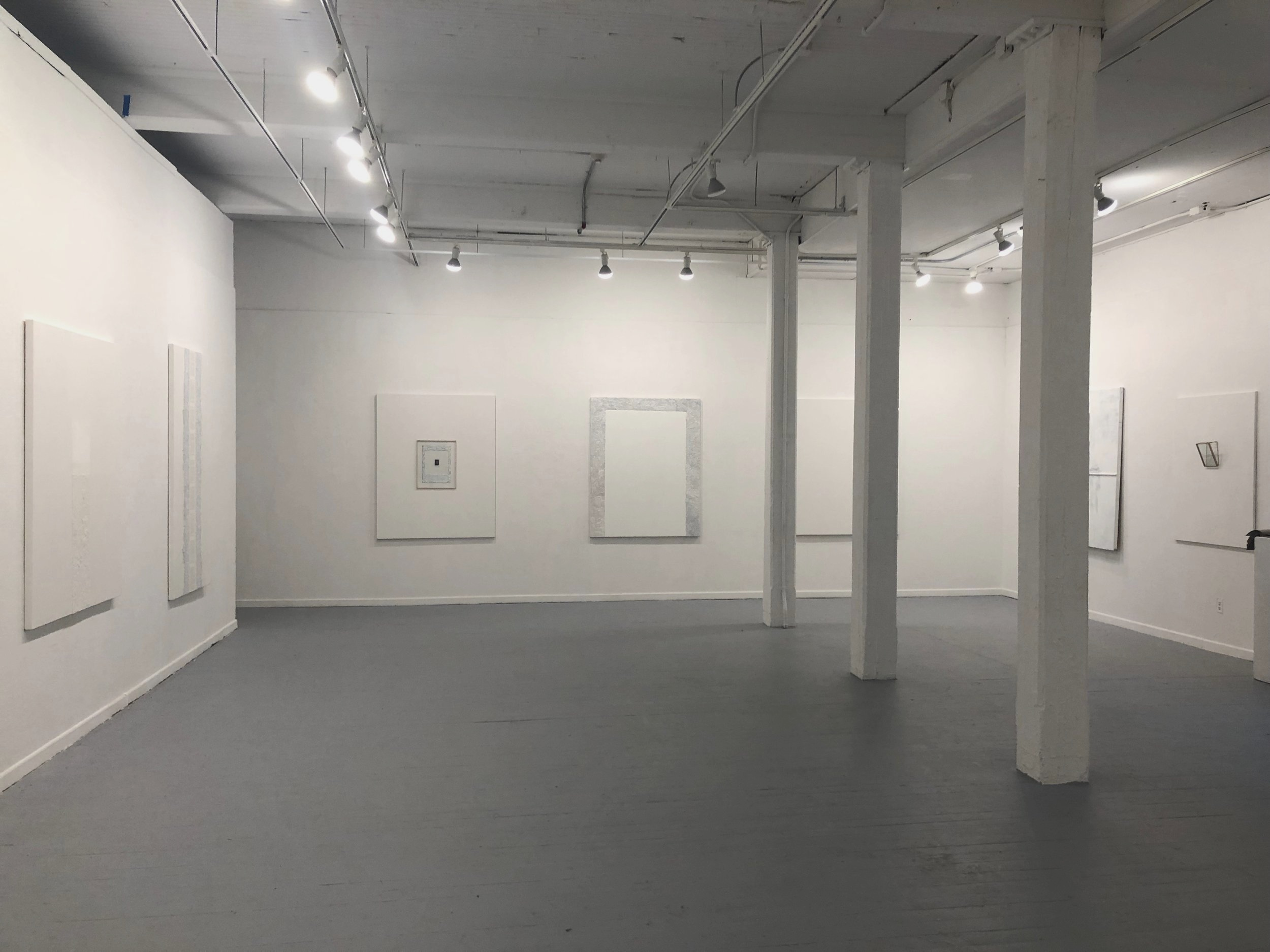 """Yeo-baek"" exhibition at East Hall Gallery"