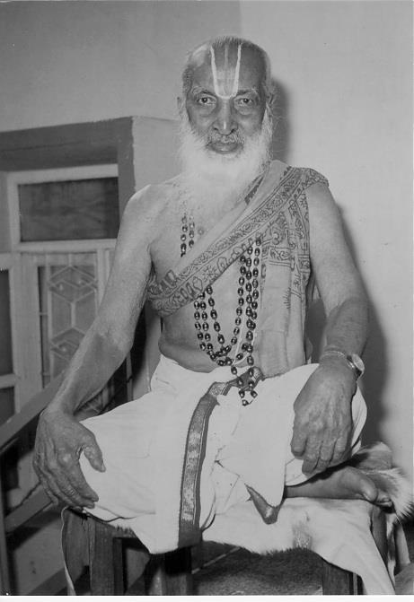 The great yogi T. Krishnamacharya