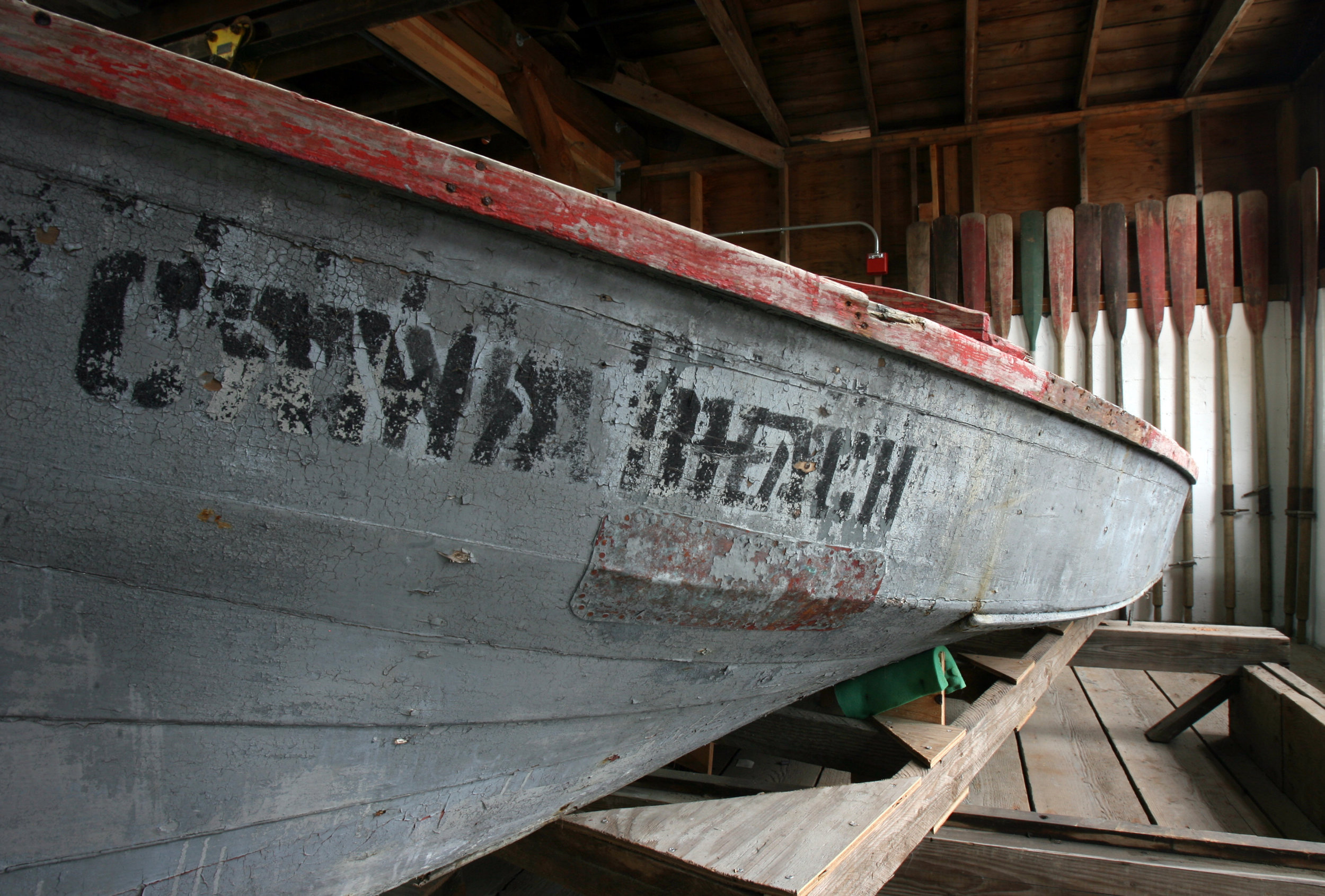 Old Boat and Oars.jpg