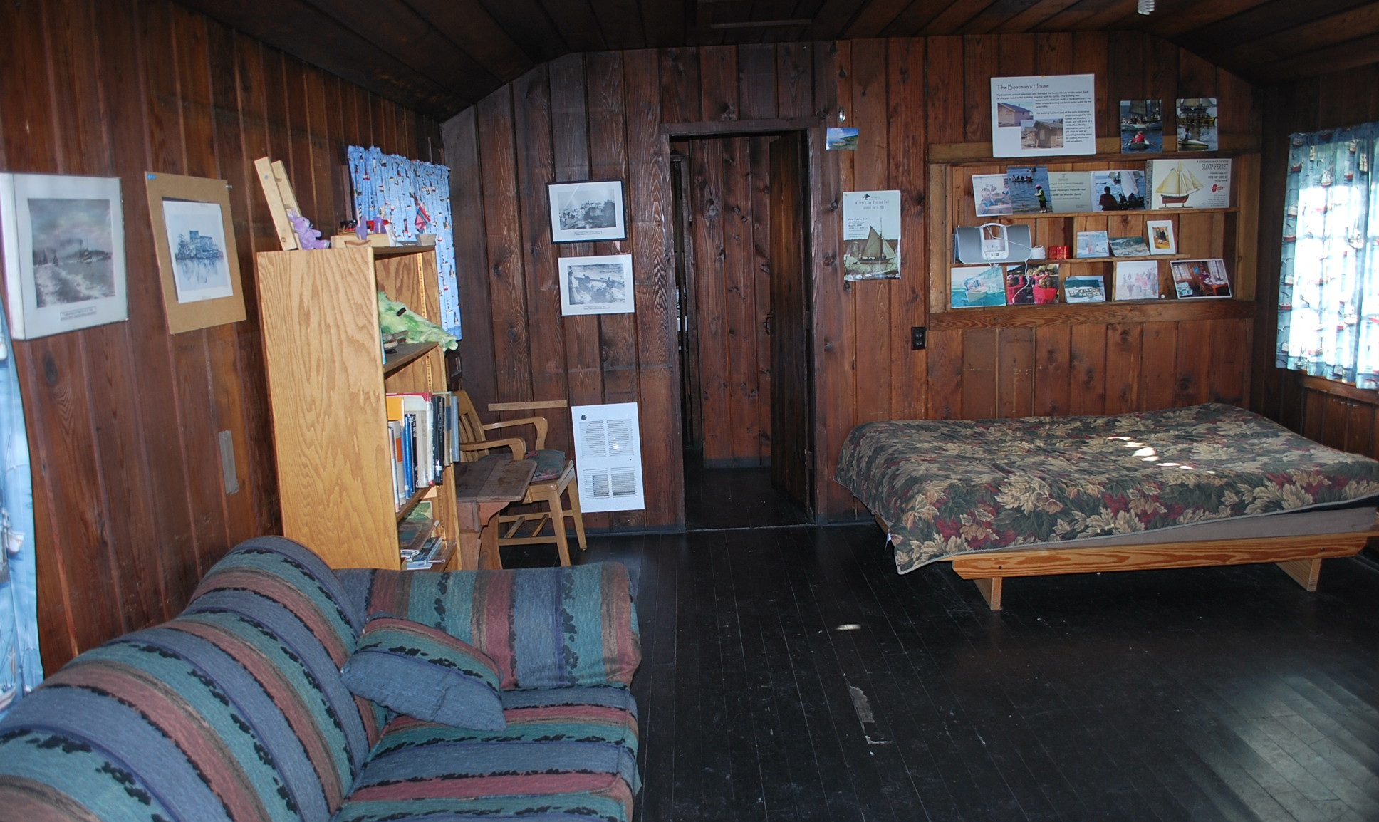 Boatman's Cabin Living Room