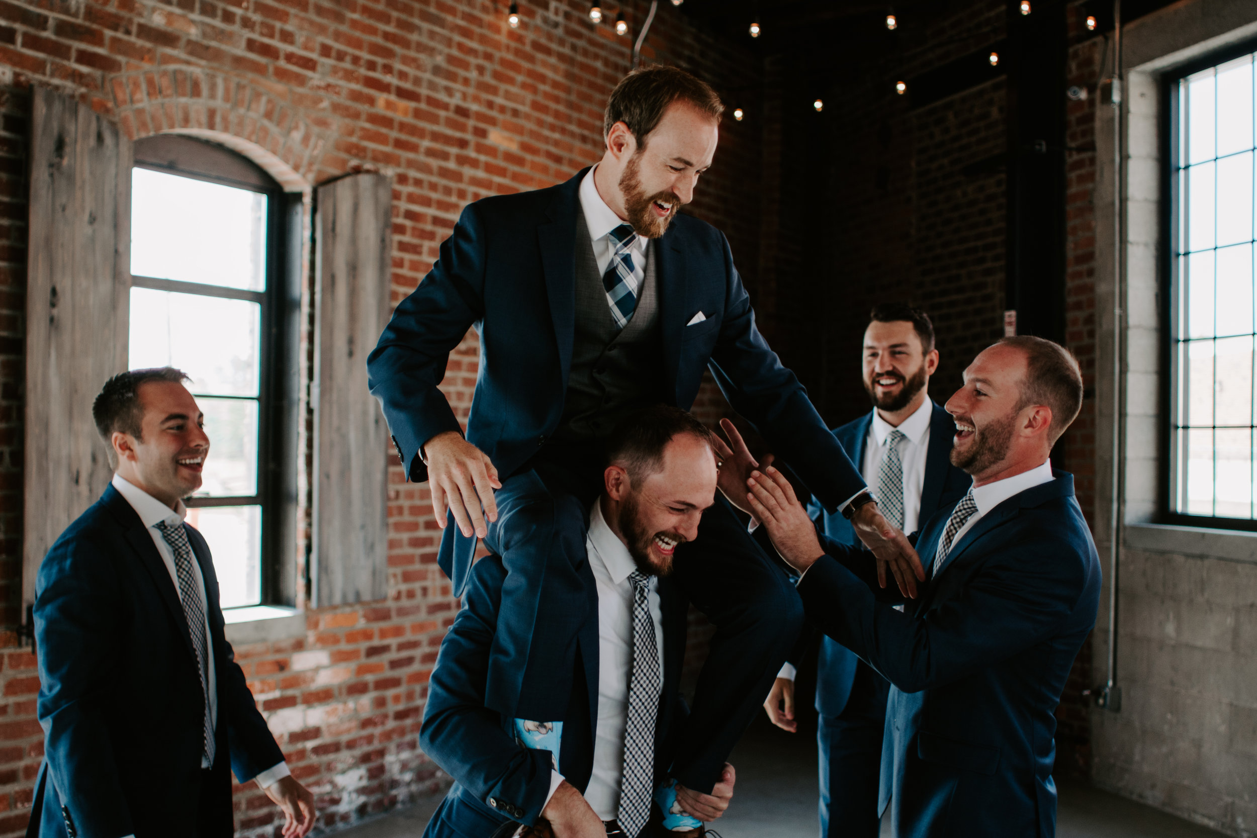 Groomsmen Photo Idea by Kerri Carlquist Photography
