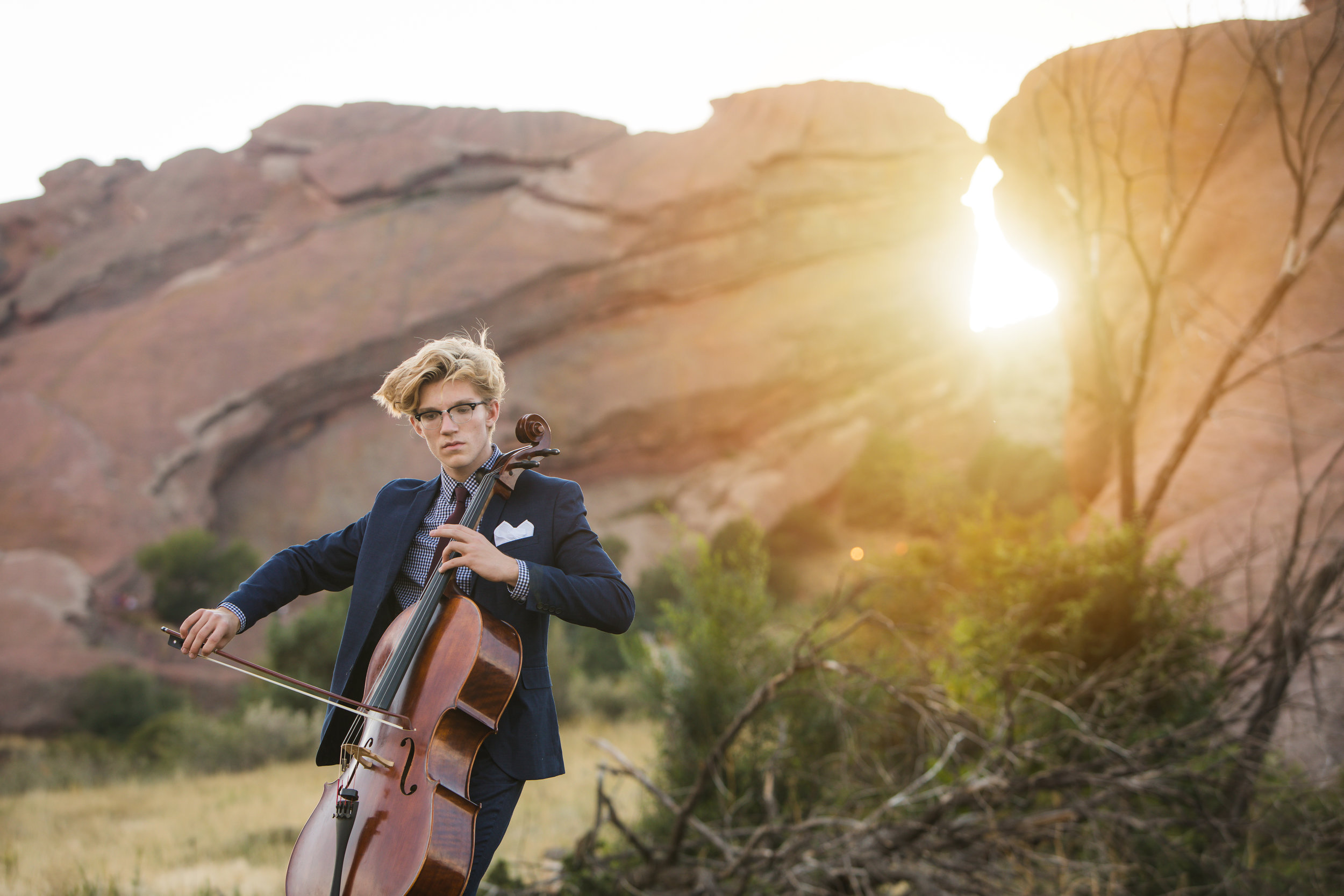 Red Rocks cello