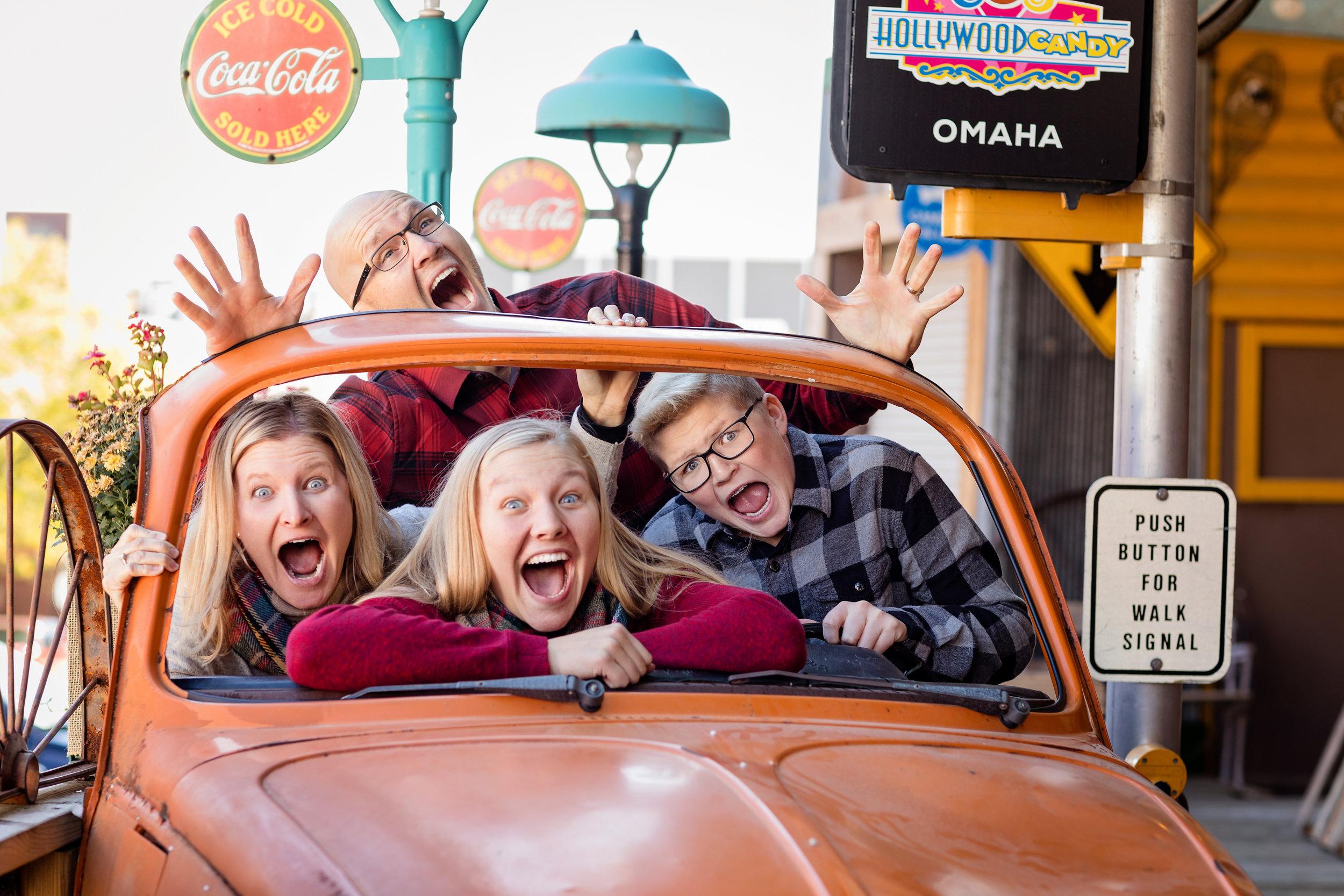 Omaha funny family