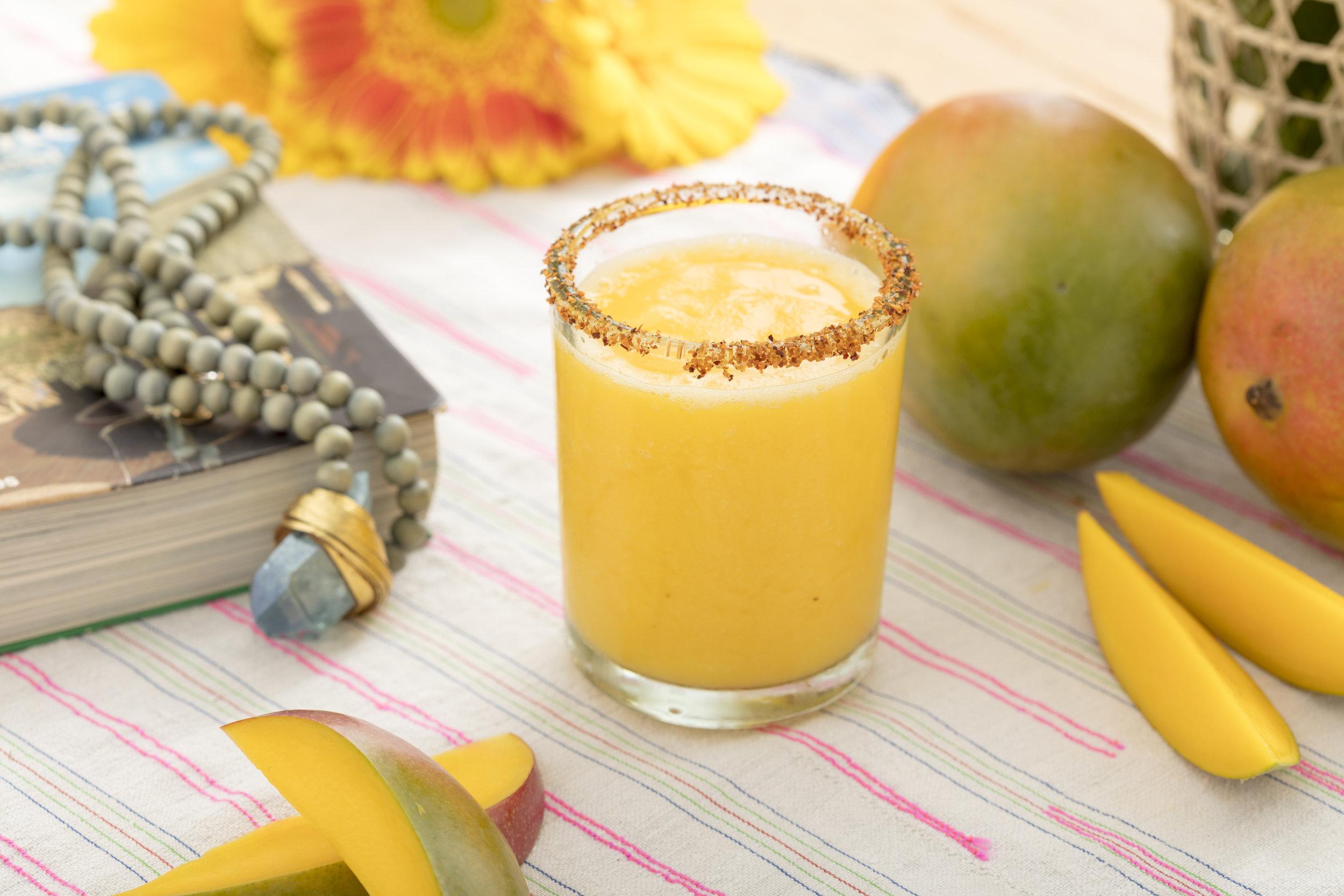 Frozen Mango-ritas