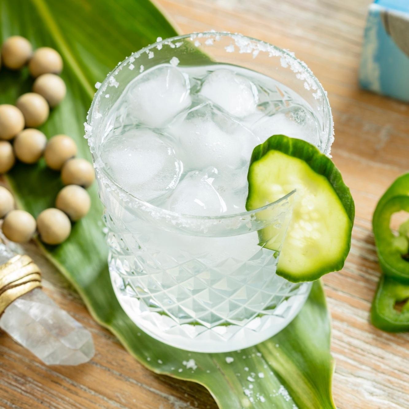 Spicy Skinnyseed Margarita