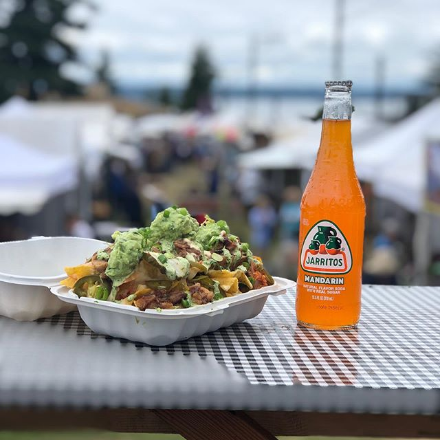 Happy Fourth of July! Come grub with us tonight at Civic Field starting at 6pm - you get hungry waiting for the fireworks and other festivities to begin!! #foodtruck #edmondskindoffourth #tacos #nachos #ricebowls #chinolatino #july4 #eatedmonds