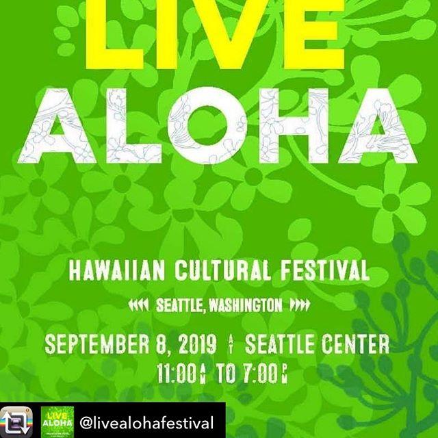Seattle friends, come see us Sunday at @livealohafestival at #seattlecenter 🌴🌺🌈🍹#tacos #kimchinachos #ricebowls #livealoha #alohaspirit #chinolatino #foodtruck #sundayfunday