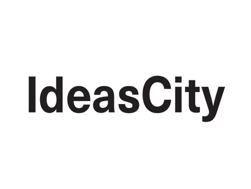 IdeasCity logo. Links to IdeasCity site.