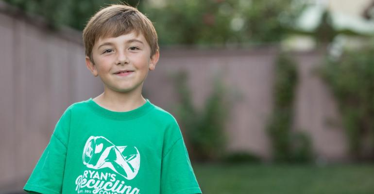 Ryan's Recycling - Ryan Hickman - Founder at 3 years oldCalifornia, USA