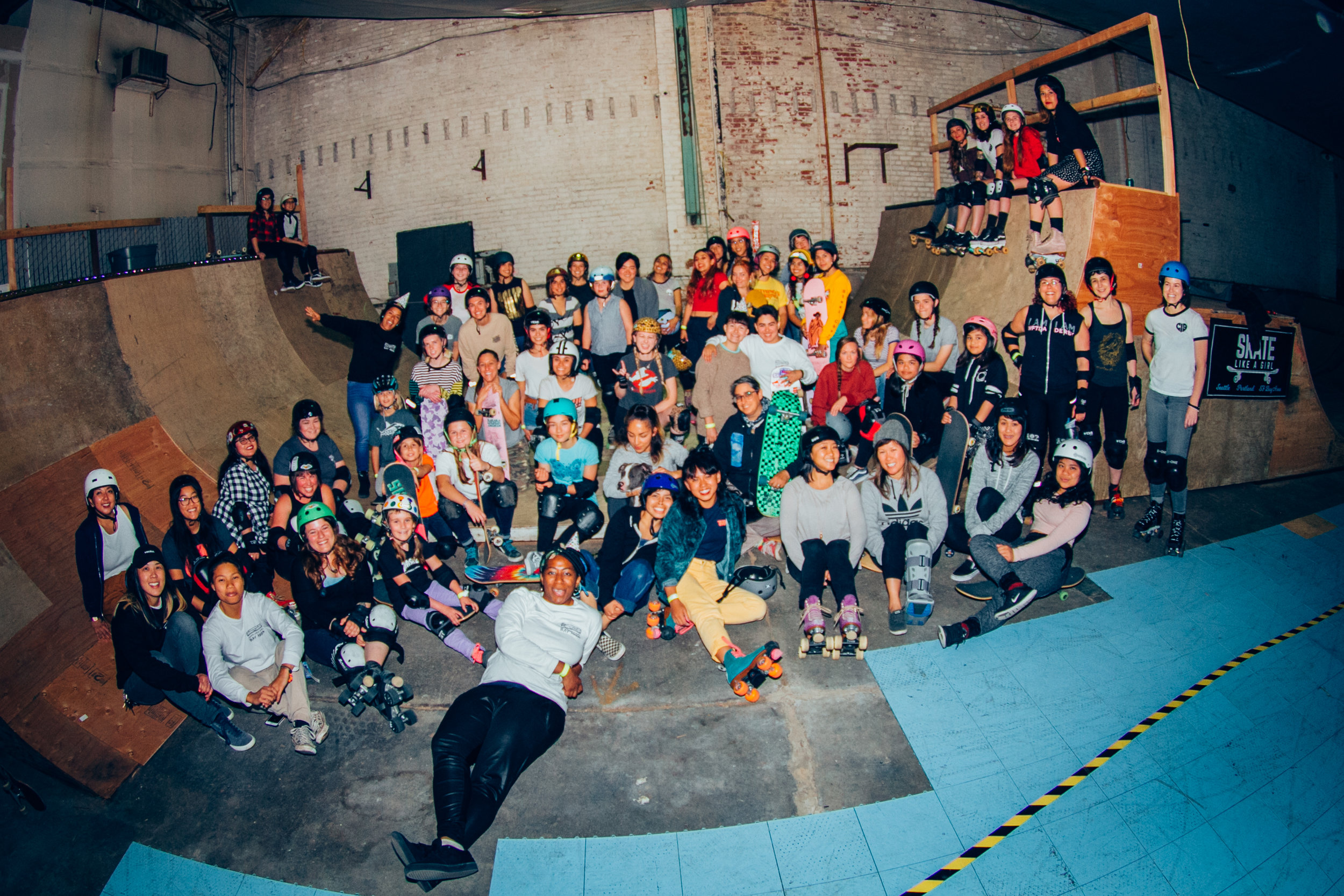 Skate Like a Girl - Our mission is to create an inclusive community by promoting confidence, leadership, and social justice through the sport of skateboarding. Visit their site to take part in upcoming activities and camps.PC: Kim Woozy