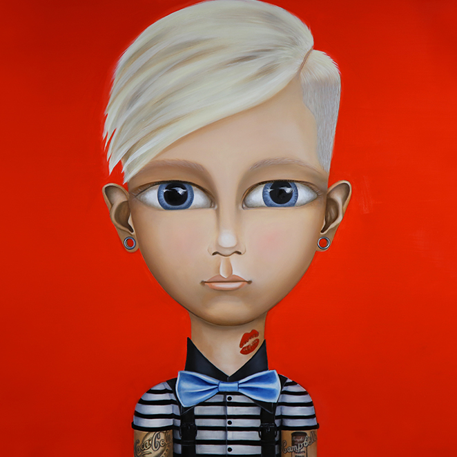 """ANDY WARHOL   Original 24""""x24"""" Oil on Panel    SHOP NOW"""