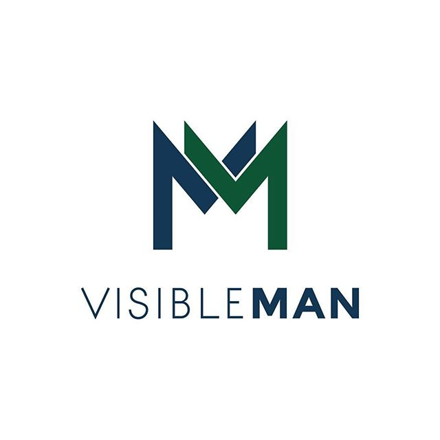 Yes, this is a logo I designed. But more importantly—this is an organization you need to follow. Jeff is the founder of @visibleman_org and is doing some incredible, grassroots work to connect men, create a visible network, and raise awareness around men's mental health. Also, his next event (3/23) is at a whiskey distillery. So there's that! 🥃 Cheers to the world-changers. I'm so grateful to work with some great ones. . . . (Oh, you can also snag this logo on a shirt and support his work! Scroll through the pics for samples.) . . . #visibleman #suicideprevention #mentalhealth #nonprofitlogo #brandidentity