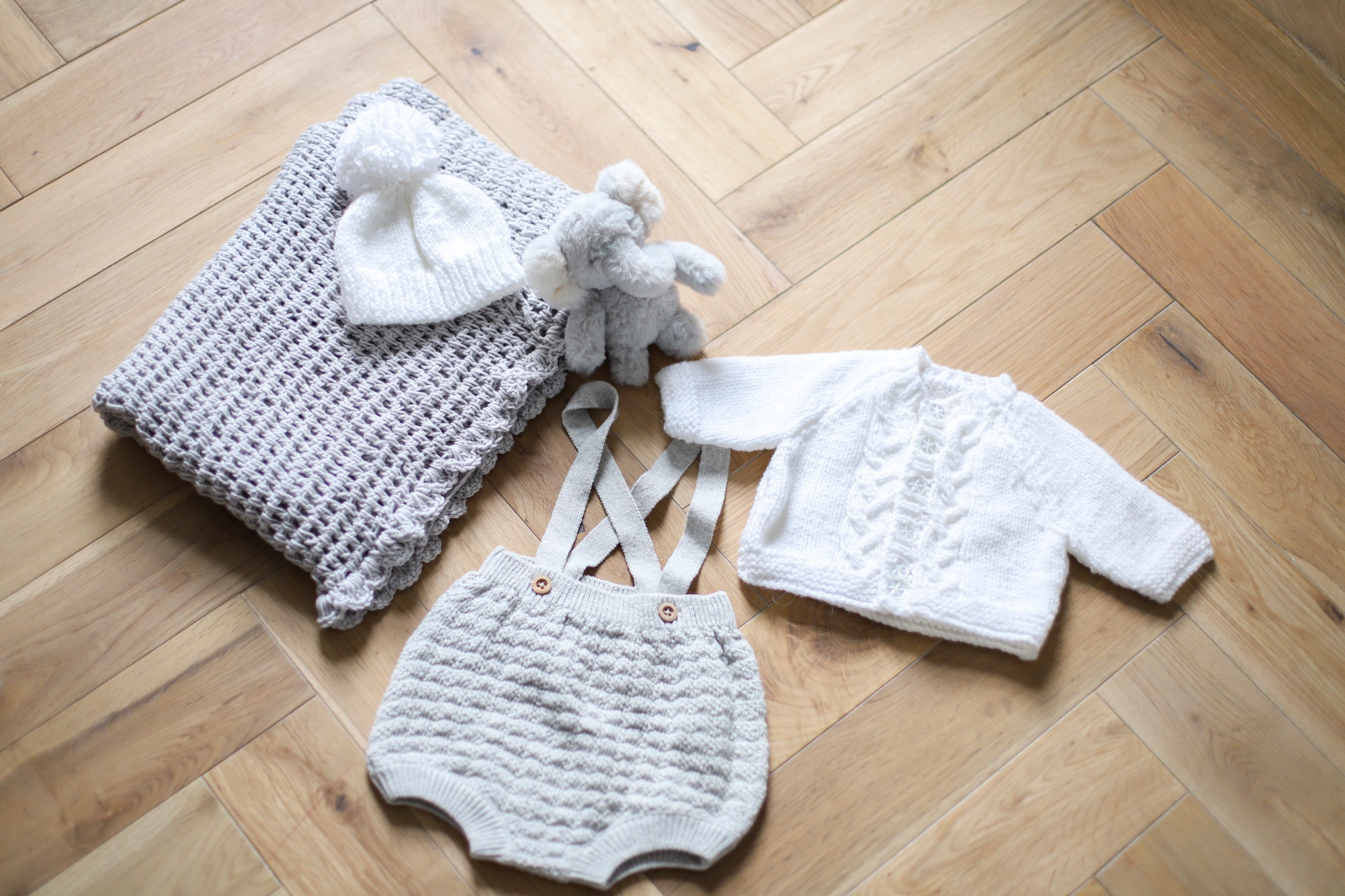 Some little knitted items that both Nanas have been busy doing.