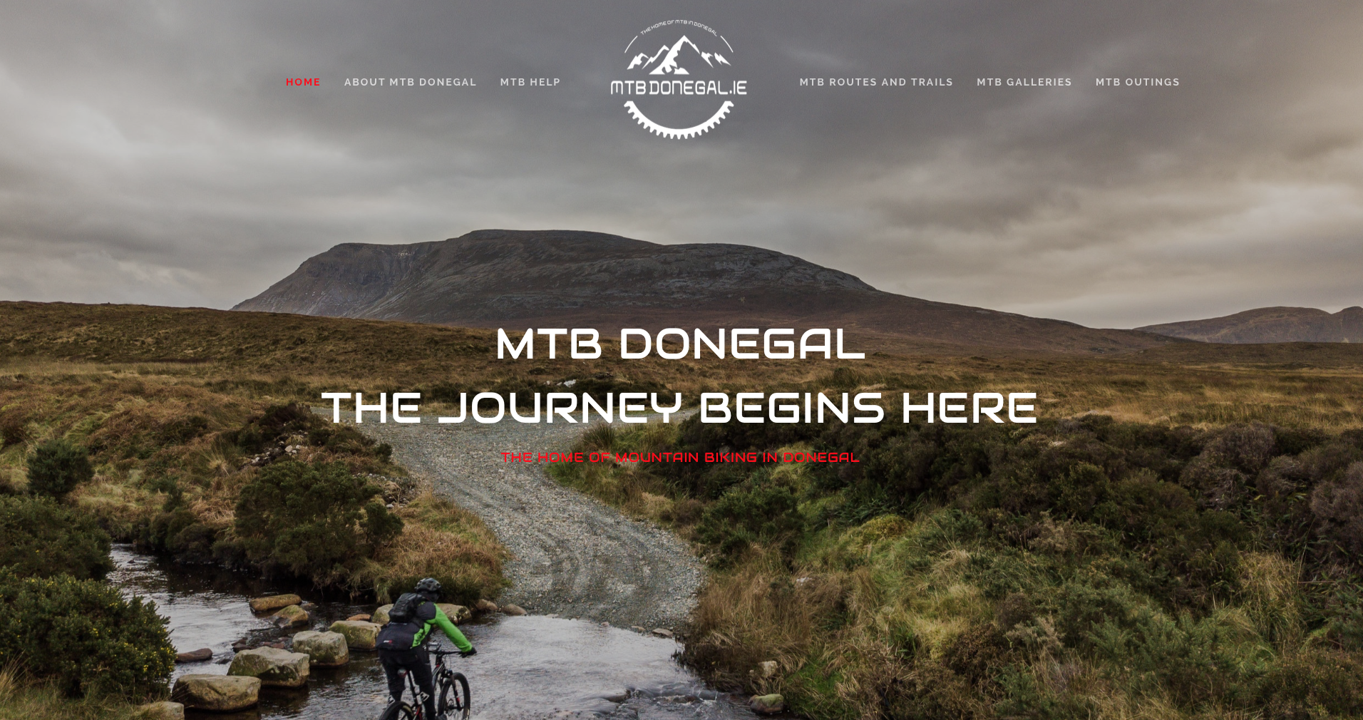 New Look MTB Donegal Homepage