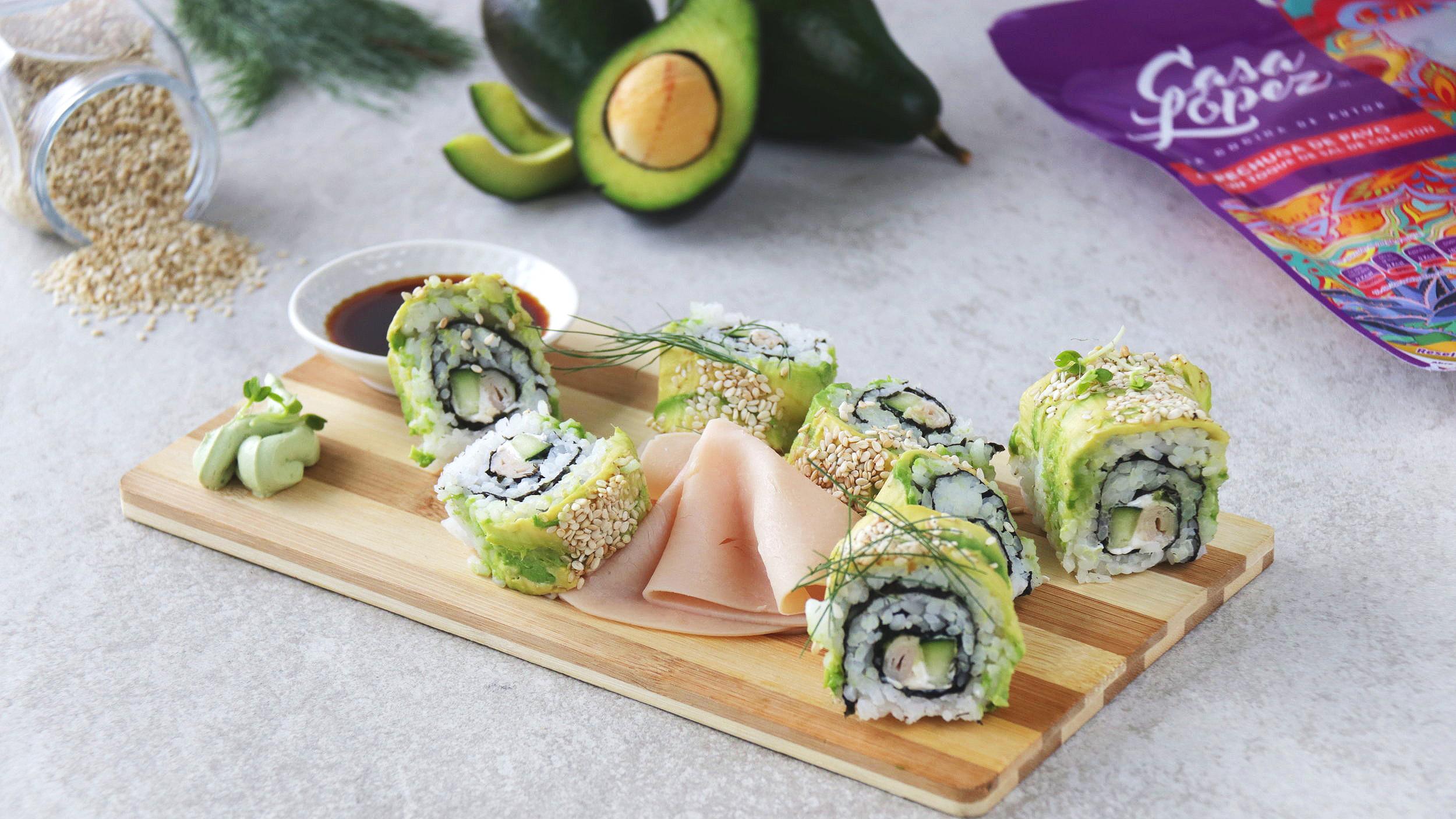 sushi-con-pechuga-de-pavo-con-un-toque-de-sal-de-celestun