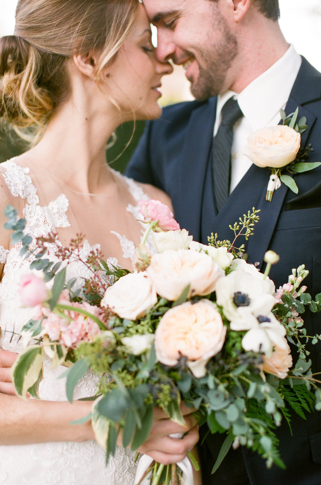 garden_style_romantic_bridal_boutquet_blush_greens_groom_boutonniere_Wine_and_Roses_Lodi.jpg