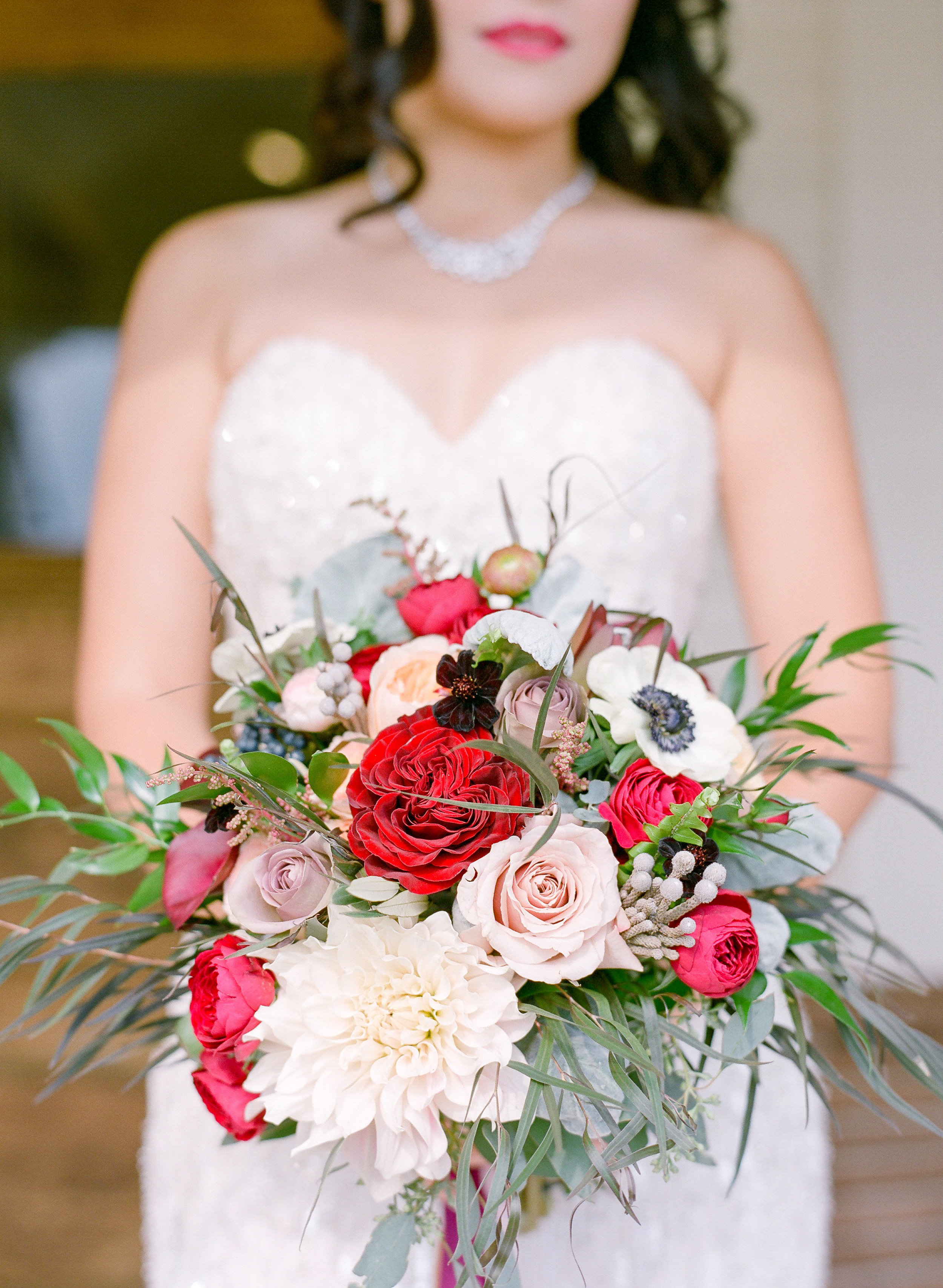 Amador_County_Wedding_Bouquet_Bride_Romantic_Whimsical_Glamorous_Dahlia_Roses_Ranunculus_Eucalyptus_Burgundy_Pink_Ivory_Outdoor_Summer_Evening_Rancho_Victoria_Vineyard_Northern_California.jpg