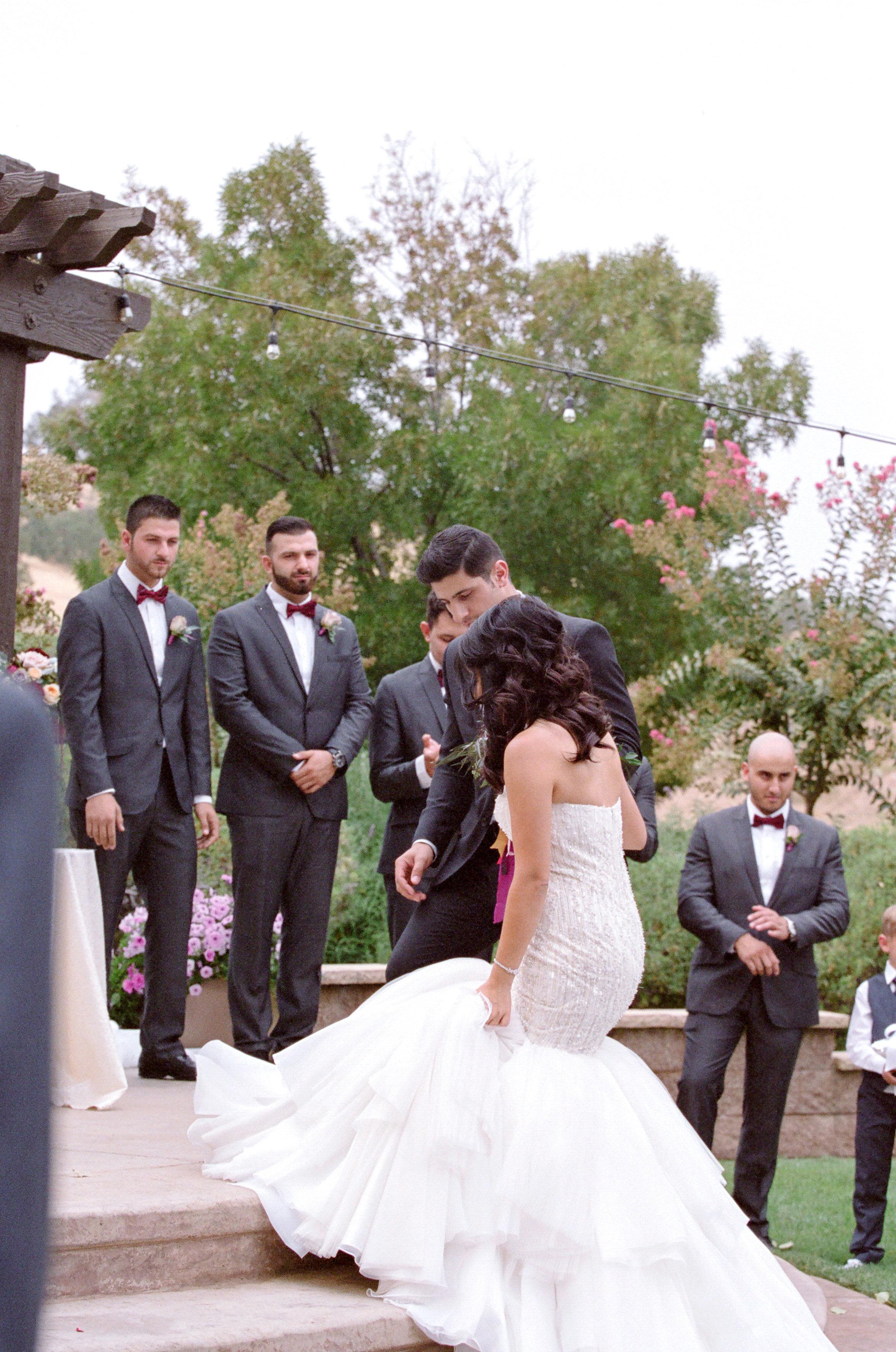 Amador_County_Wedding_Ceremony_Stage_Bride_Groom_Rancho_Victoria_Vineyard_Northern_California.jpg