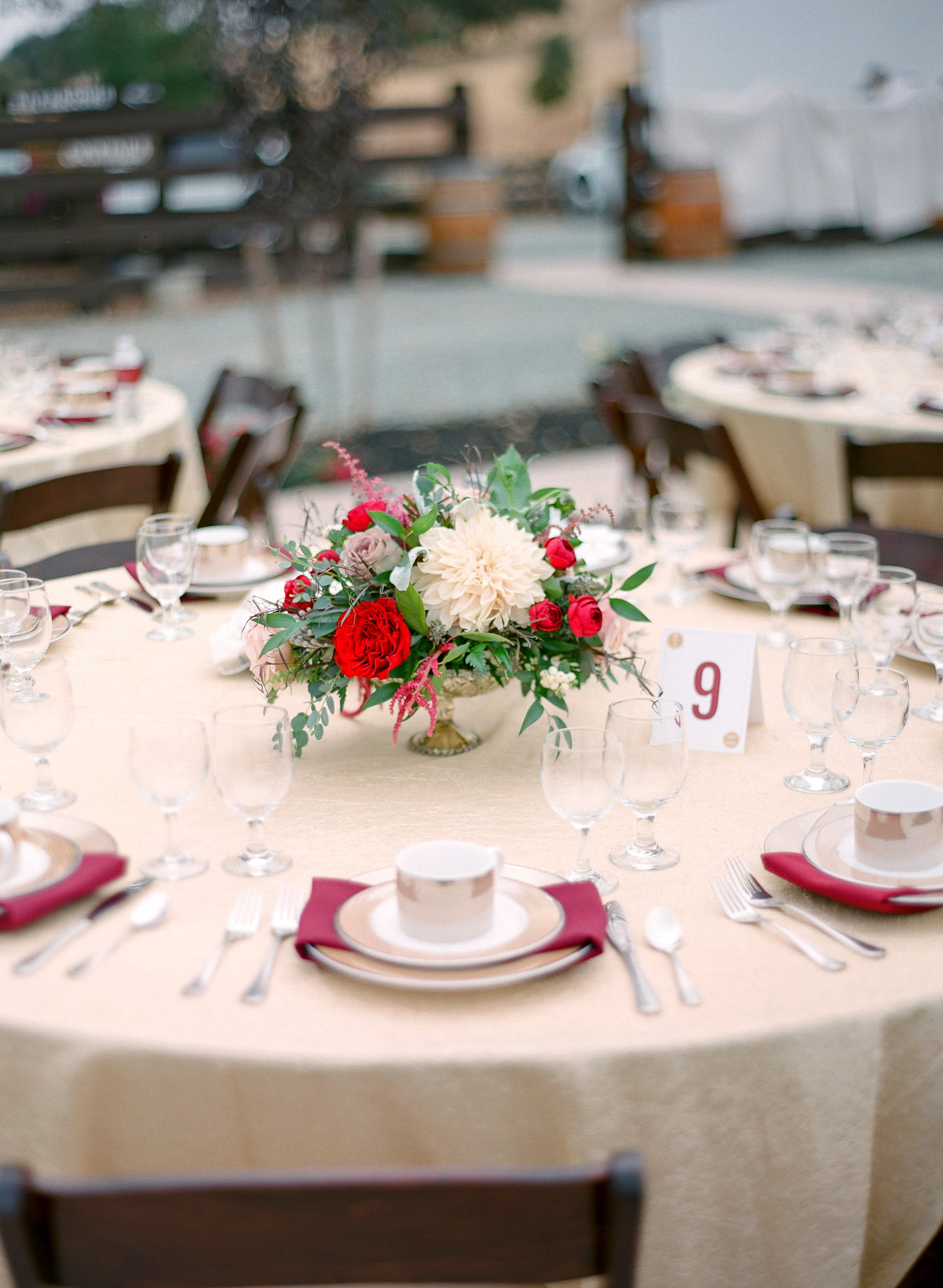 Amador_County_Wedding_Floral_Centerpiece_Red_Burgundy_Gold_Rancho_Victoria_Vineyard_Northern_California.jpg