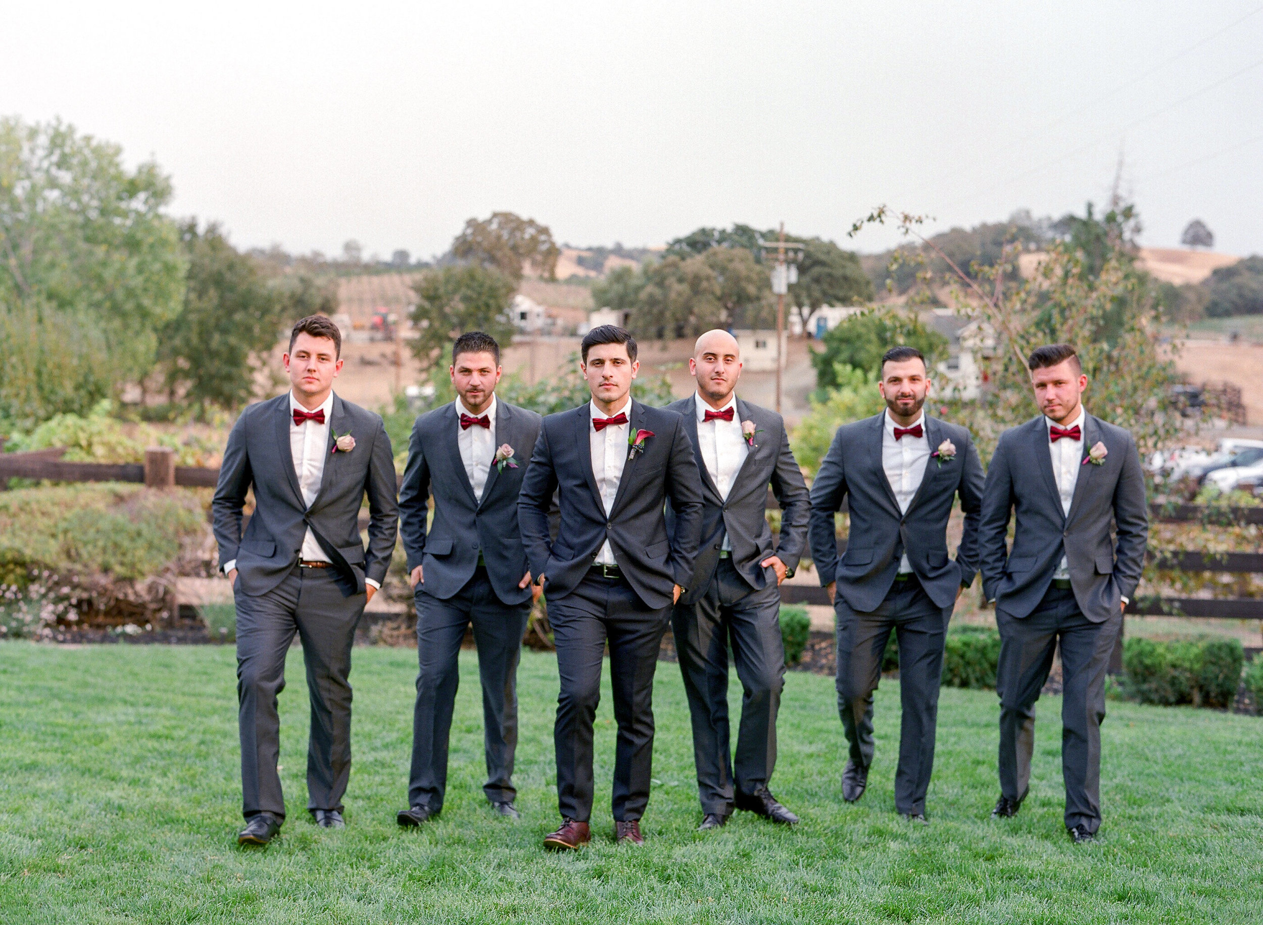 Amador_County_Wedding_Groom_Groomsmen_Boutonnieres_Rancho_Victoria_Vineyard_Northern_California.jpg