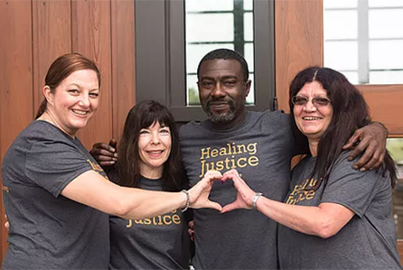 Jennifer Thompson founds Healing Justice Project - Healing Justice Project addresses the extensive human damage caused by wrongful convictions and works to prevent future wrongful convictions.