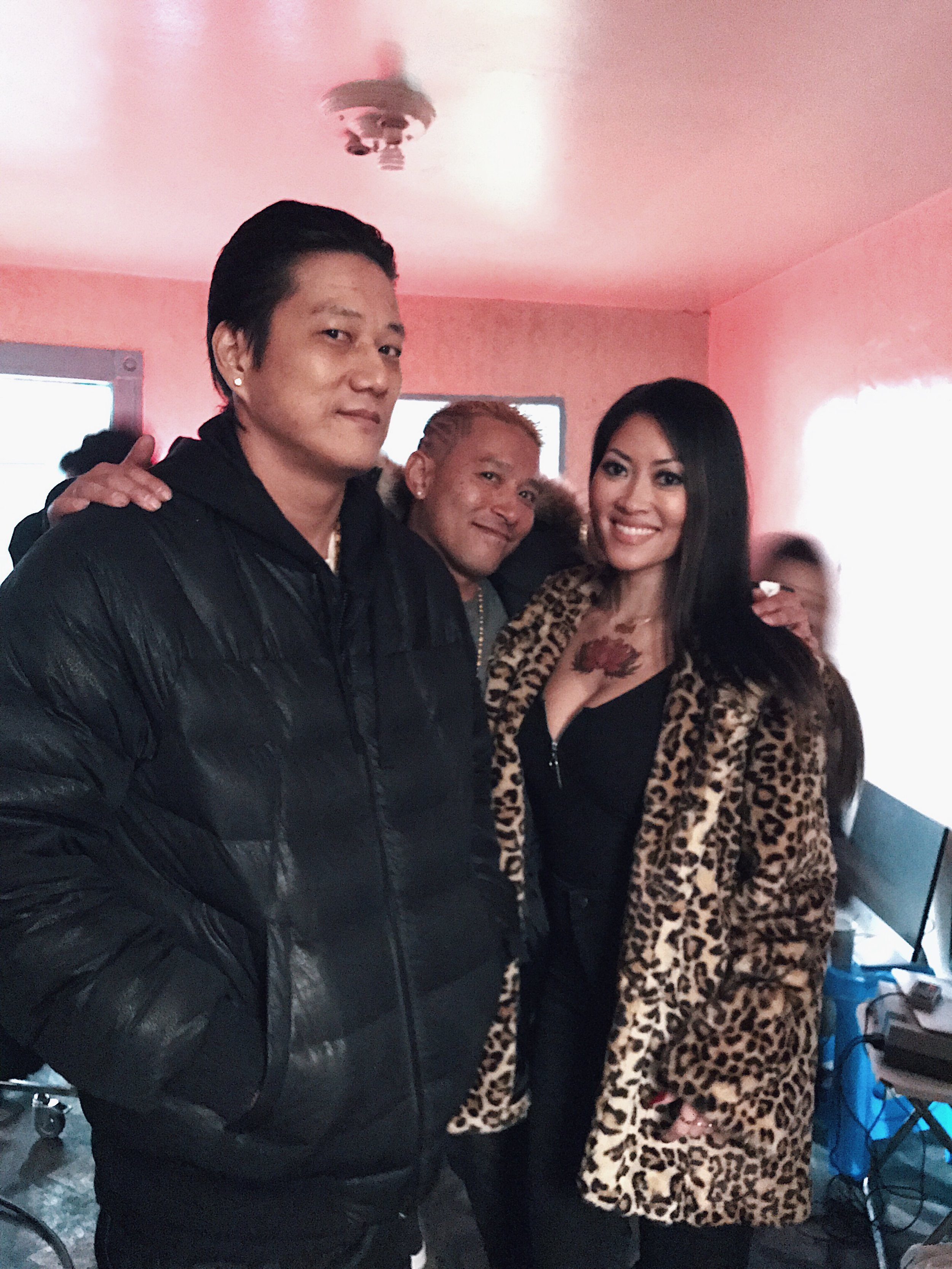 Sung Kang  and  Devon Diep  in  Snakehead