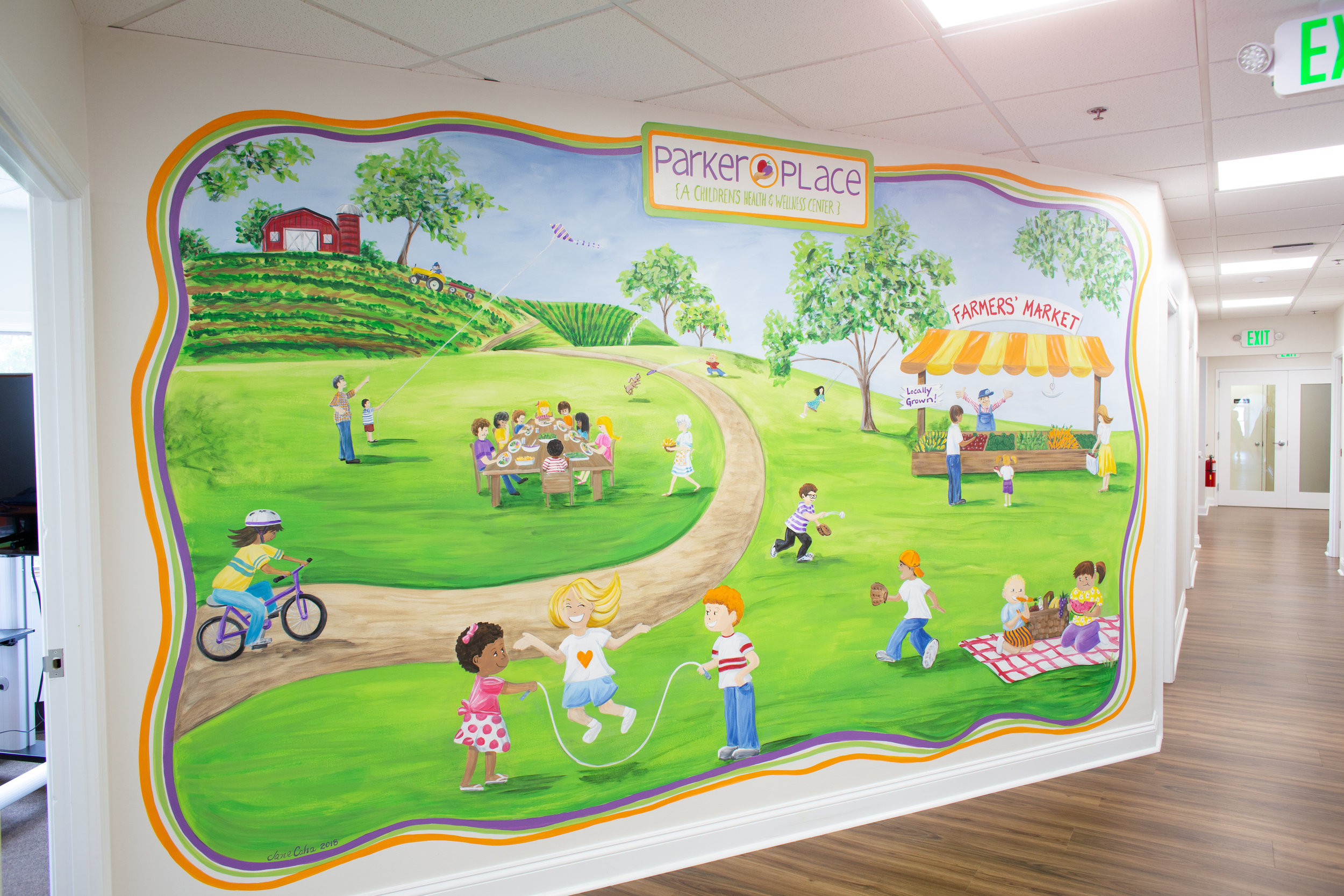 Parker Place Mural