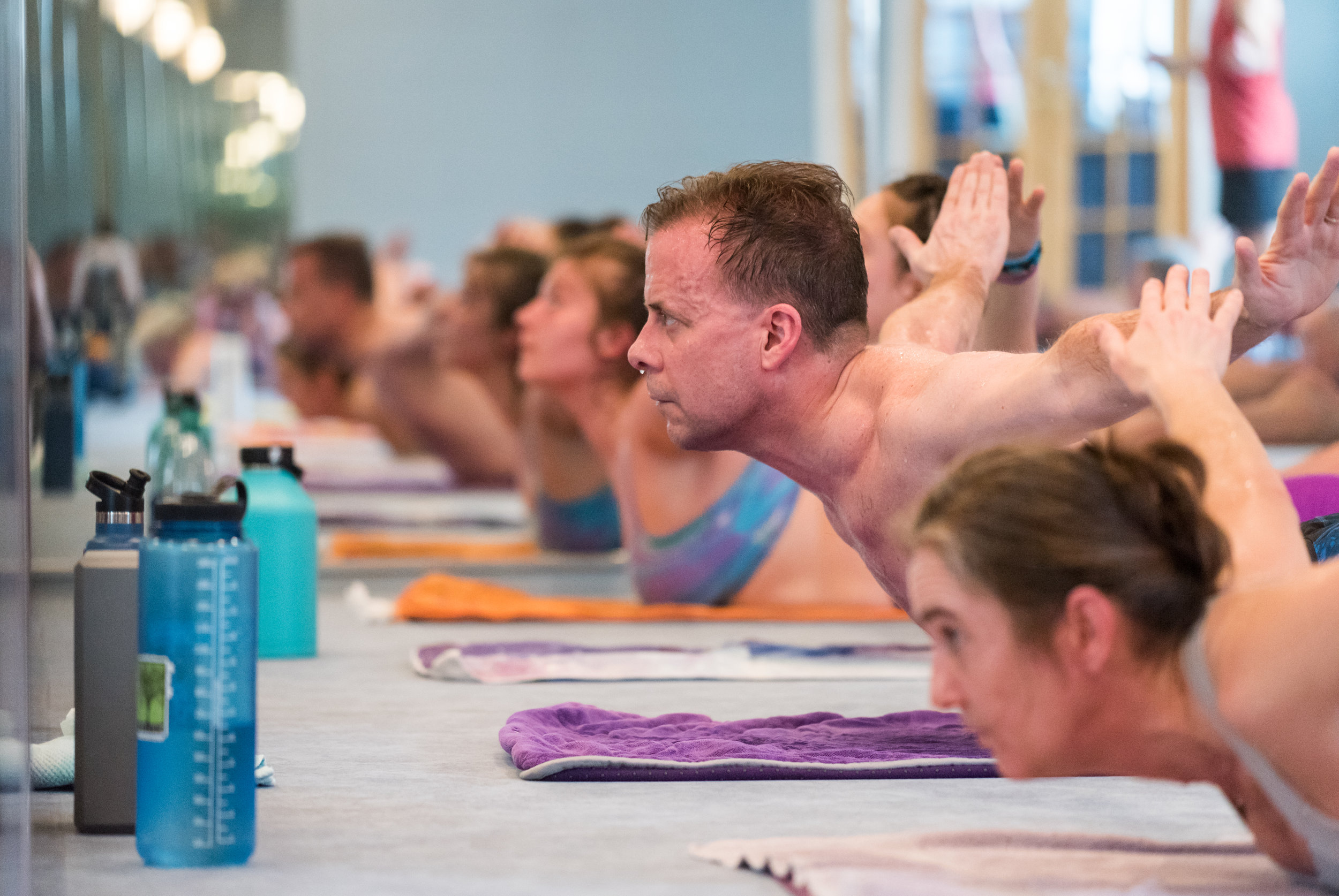 Inferno Hot Pilates Class - 6o minute classes