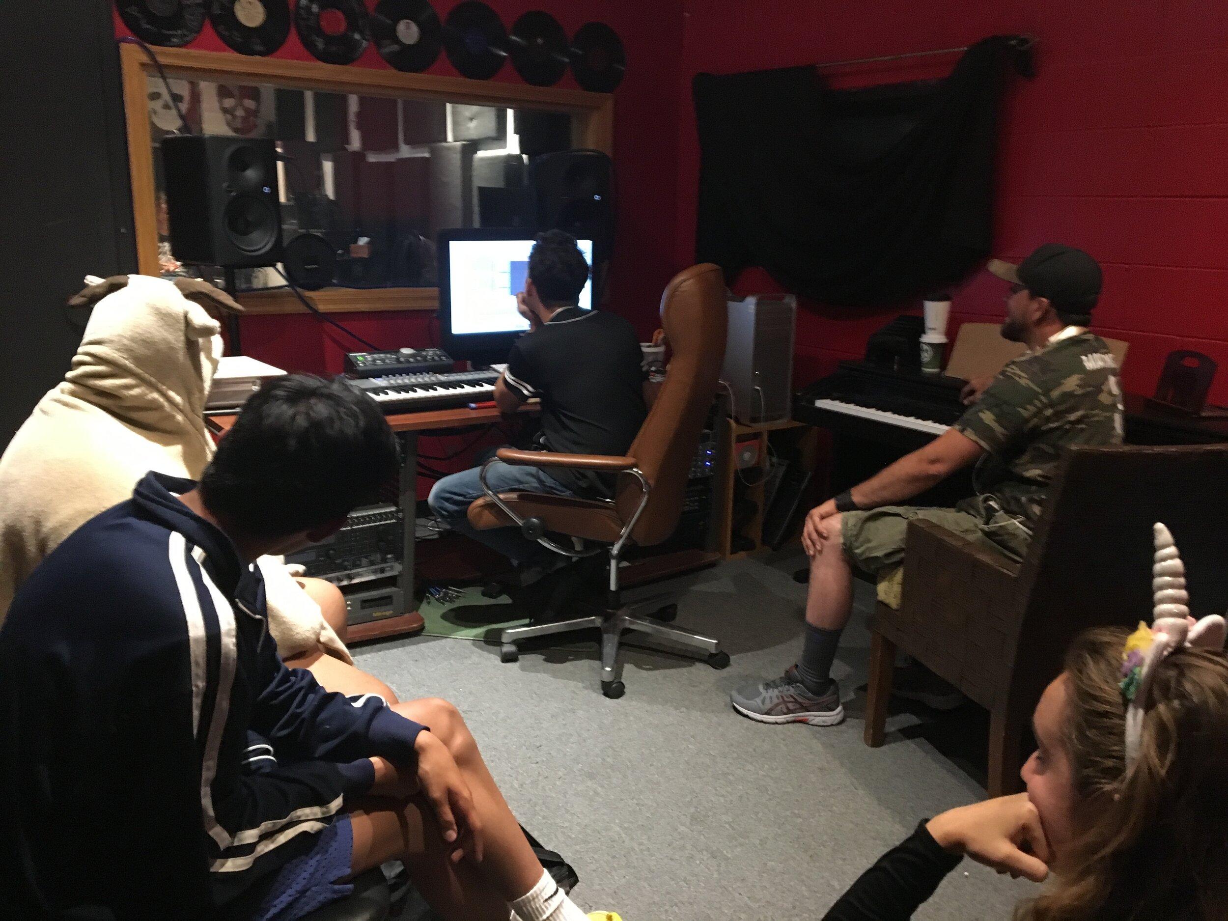 Recording June.JPG