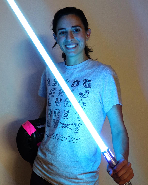 Angie Pereda, Lightspeed Saber Academy
