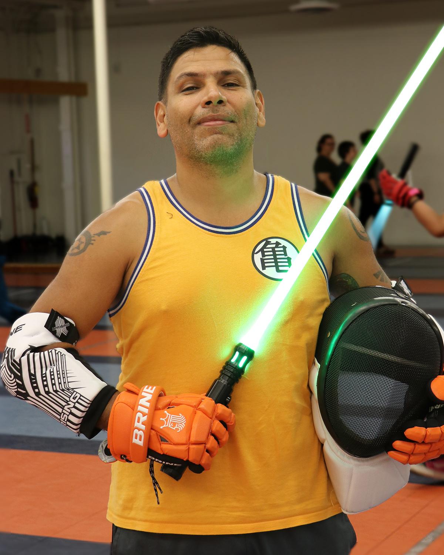 JC Marquez, Lightspeed Saber Academy