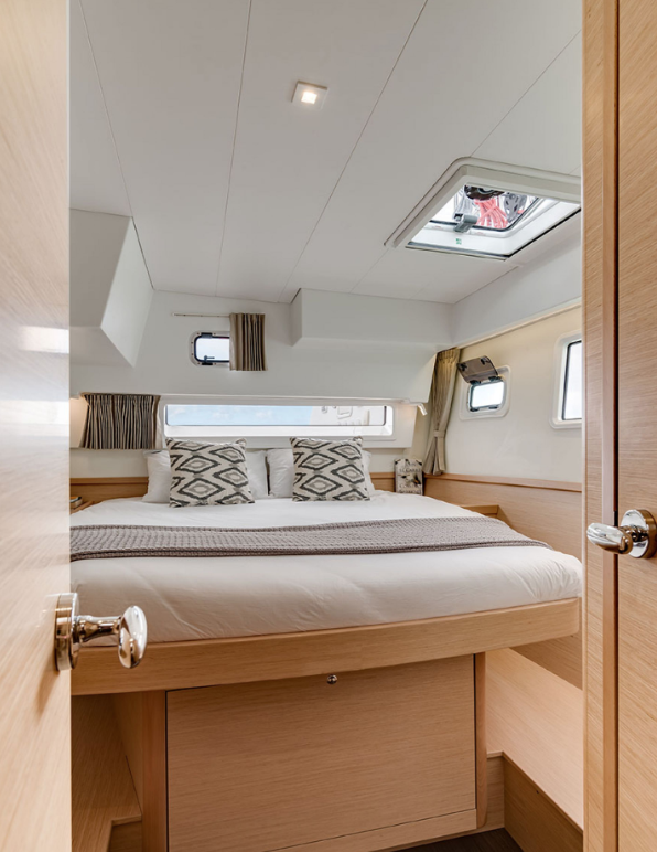Suite Three - Located at the port (left) stern (back) of the boat.Full Private bath.Sleeps Two.$2,800 per person. $5,500 for the entire suite.All linens, pillows, and towels included.