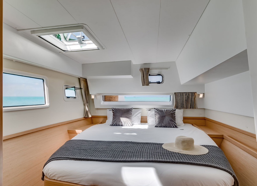 Suite Four - SOLD OUTLocated at the starboard (right) stern (back) of the boat.Full Private bath.Sleeps Two.$2,800 per person. $5,500 for the entire suite.All linens, pillows, and towels included.