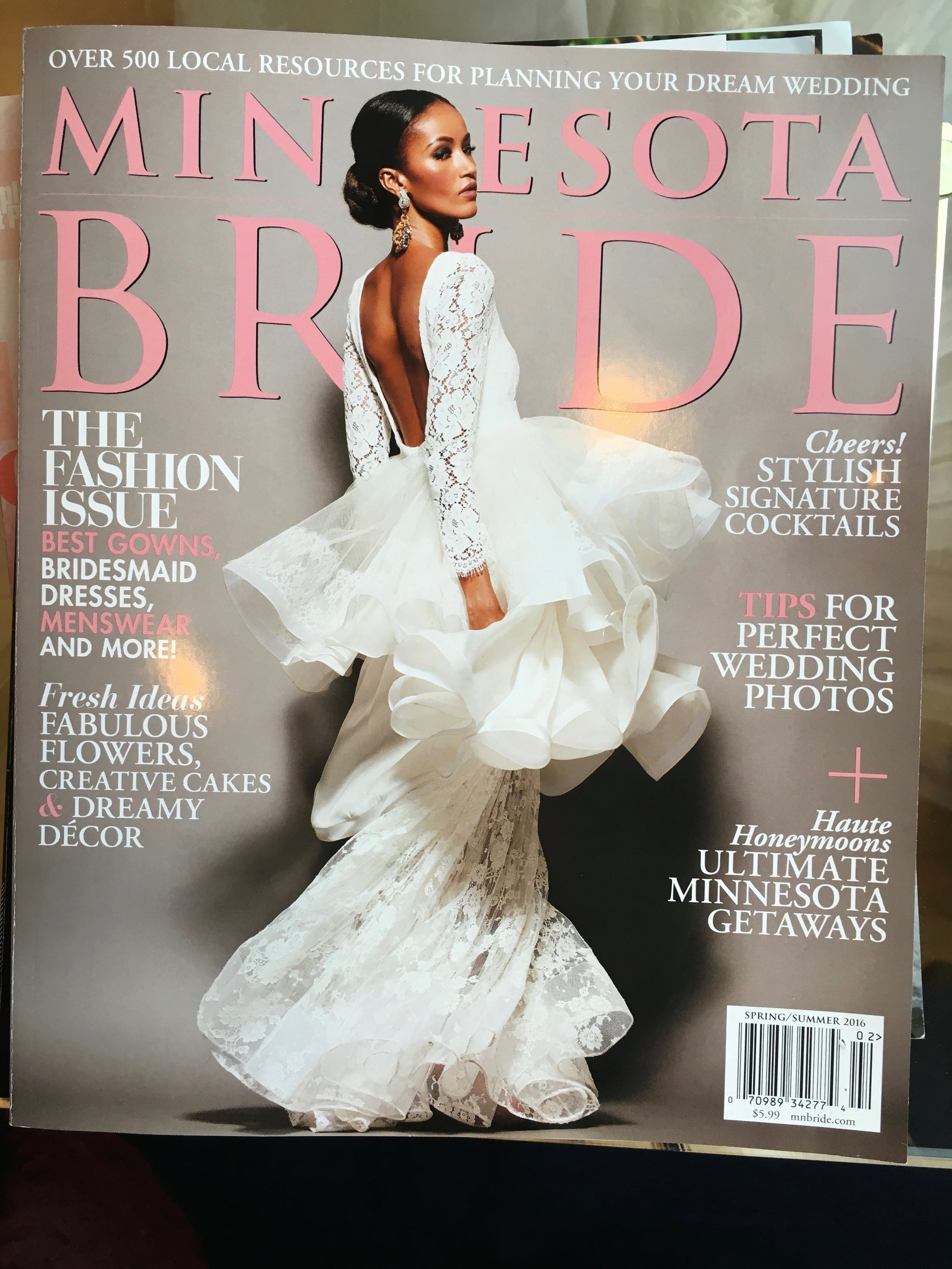 Minnesota Bride Magazine - 2016