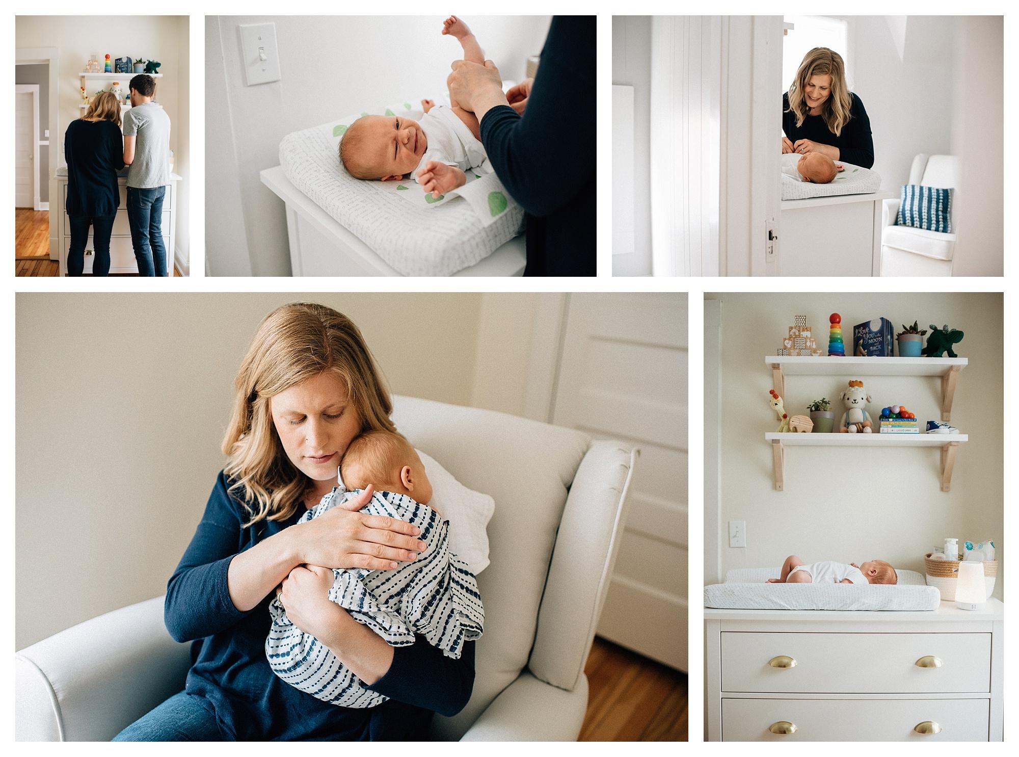 lake county newborn photographer, lifestyle photography, chicago phootgrapher, newborn, baby led, organic, bella nicole photography