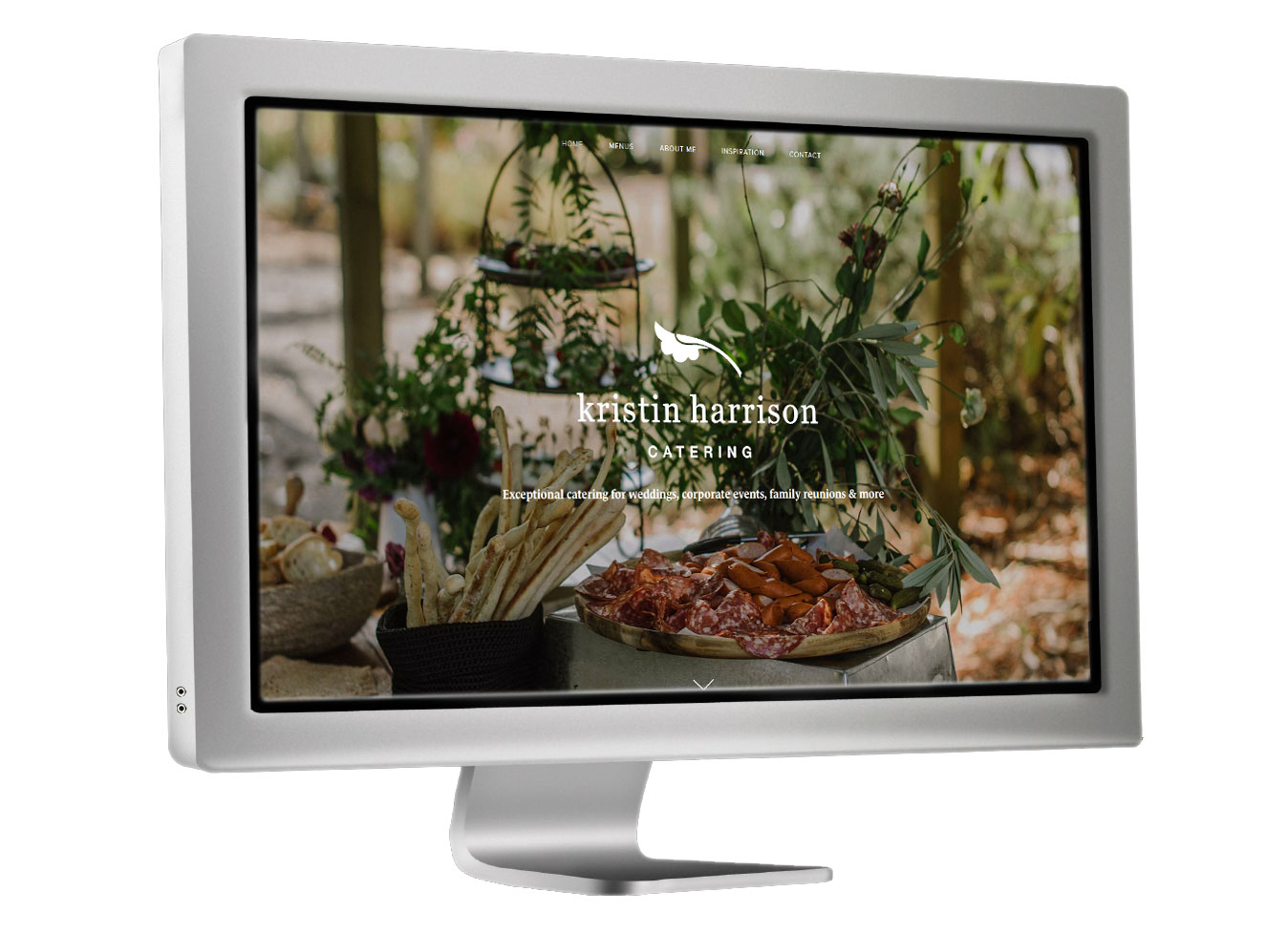 Kristin Harrison Catering website